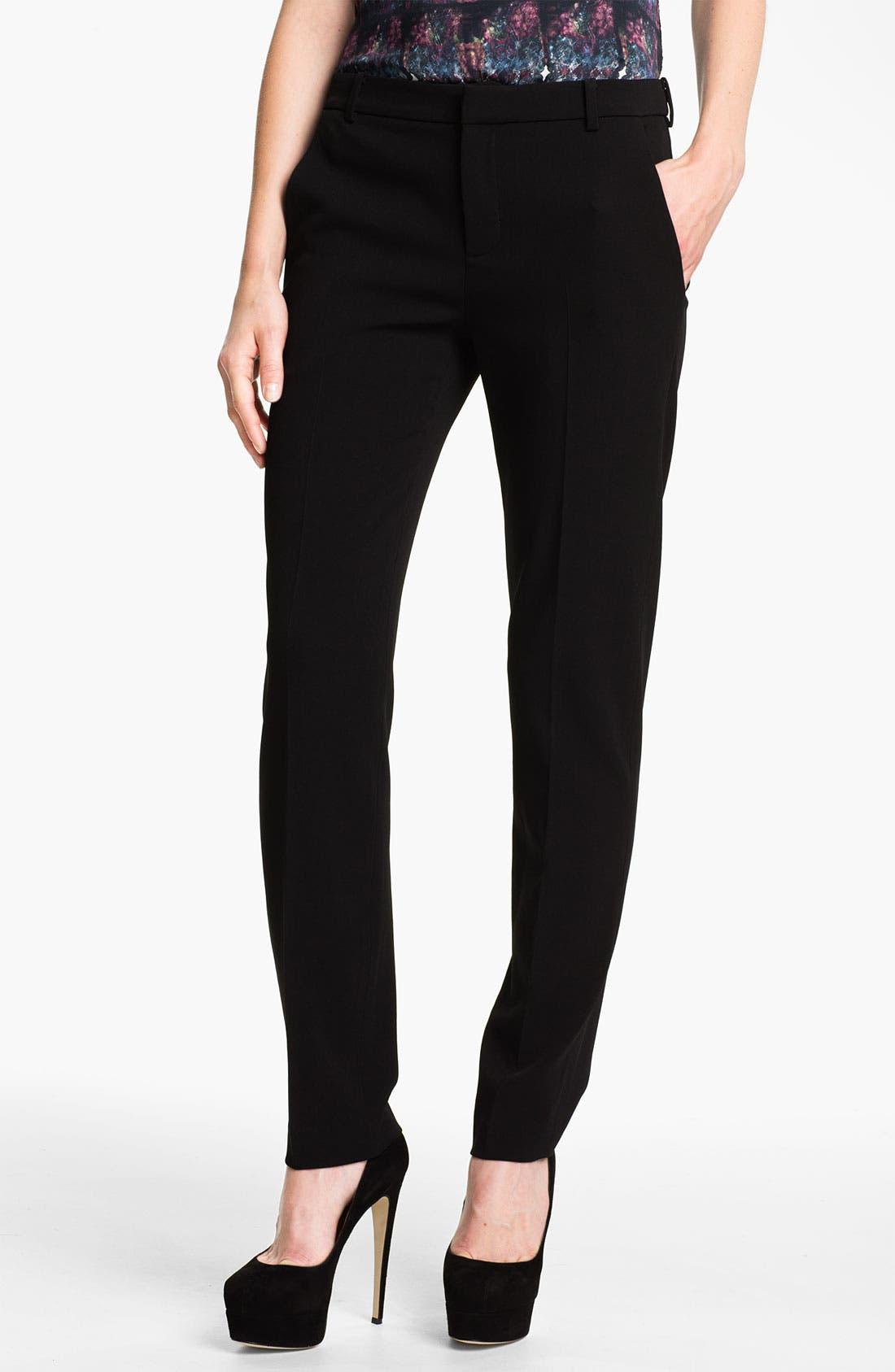 Main Image - Theyskens' Theory 'Palma Fomment' Slim Pants