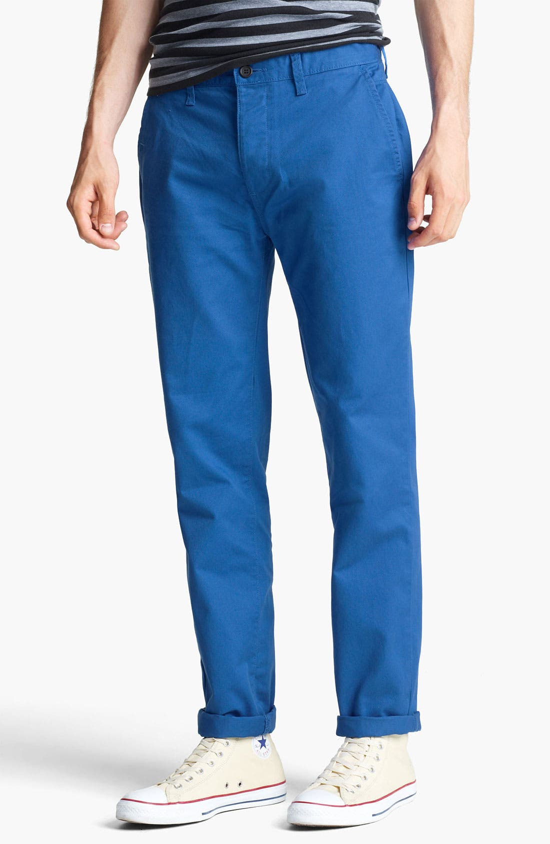 Alternate Image 1 Selected - Topman Skinny Chinos