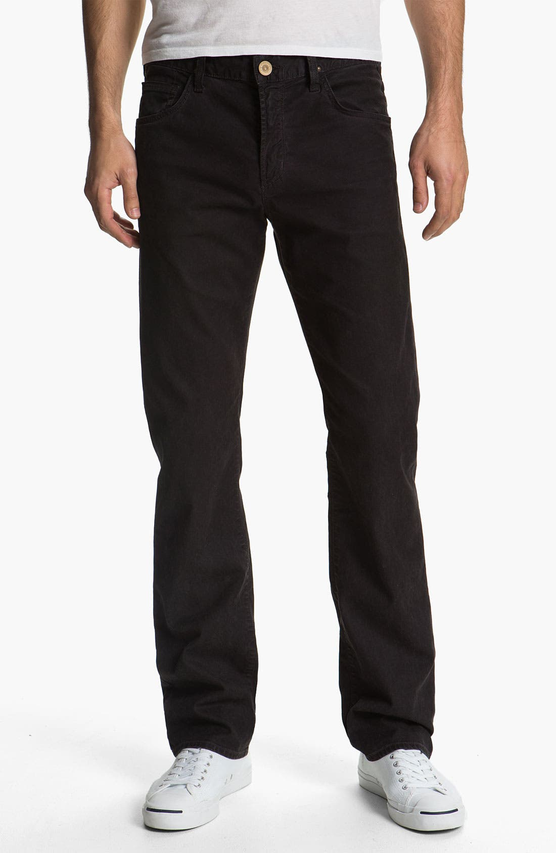 Alternate Image 1 Selected - Citizens of Humanity 'Sid' Straight Leg Twill Pants