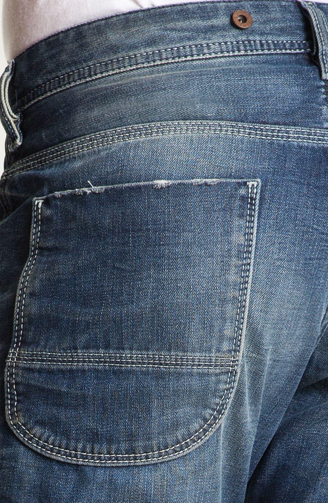 Alternate Image 4  - DIESEL® 'Ty-Tool' Straight Leg Jeans (0804N)