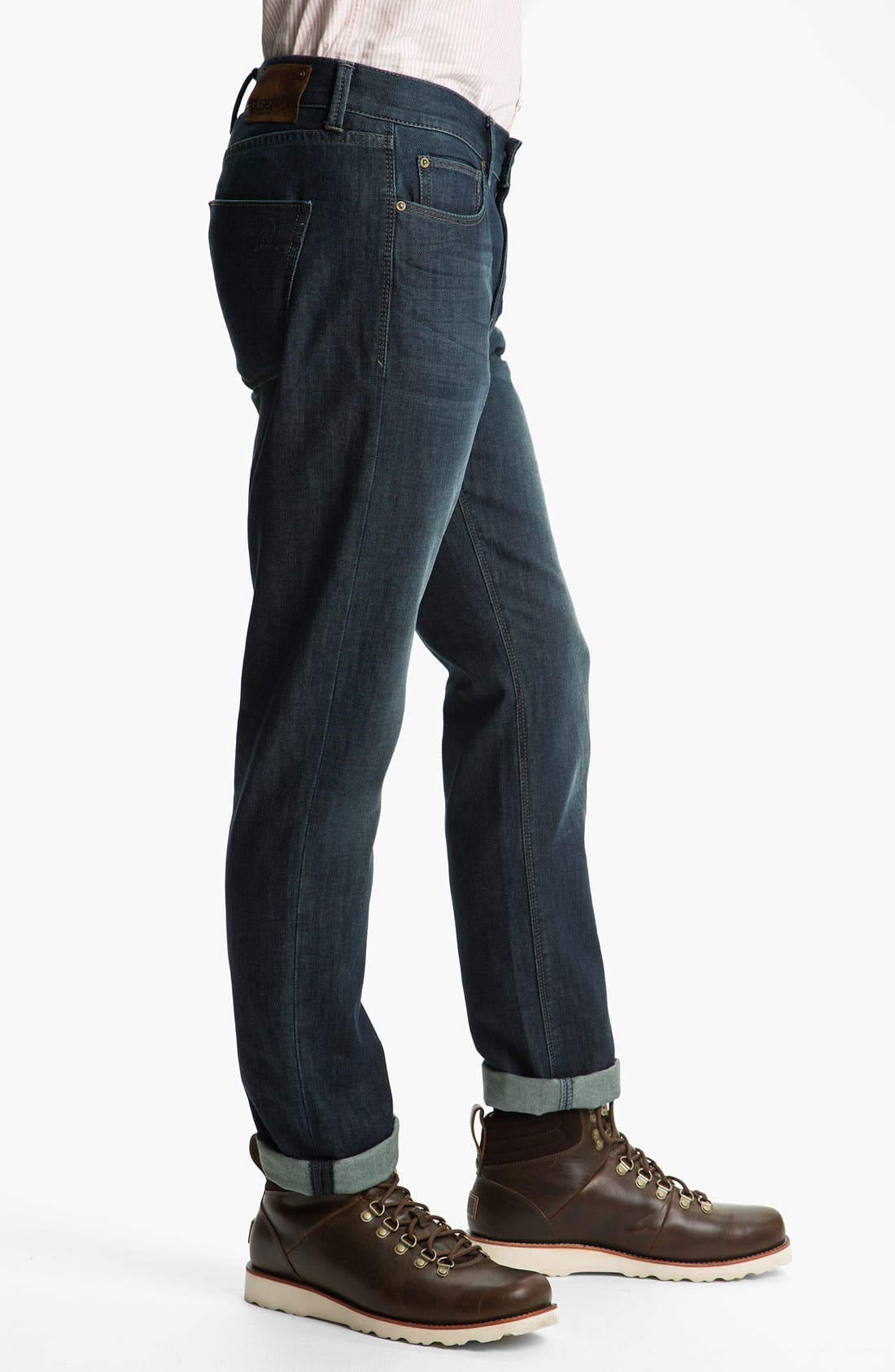 Alternate Image 3  - DL1961 'Russell' Slim Straight Leg Jeans (Mustang)