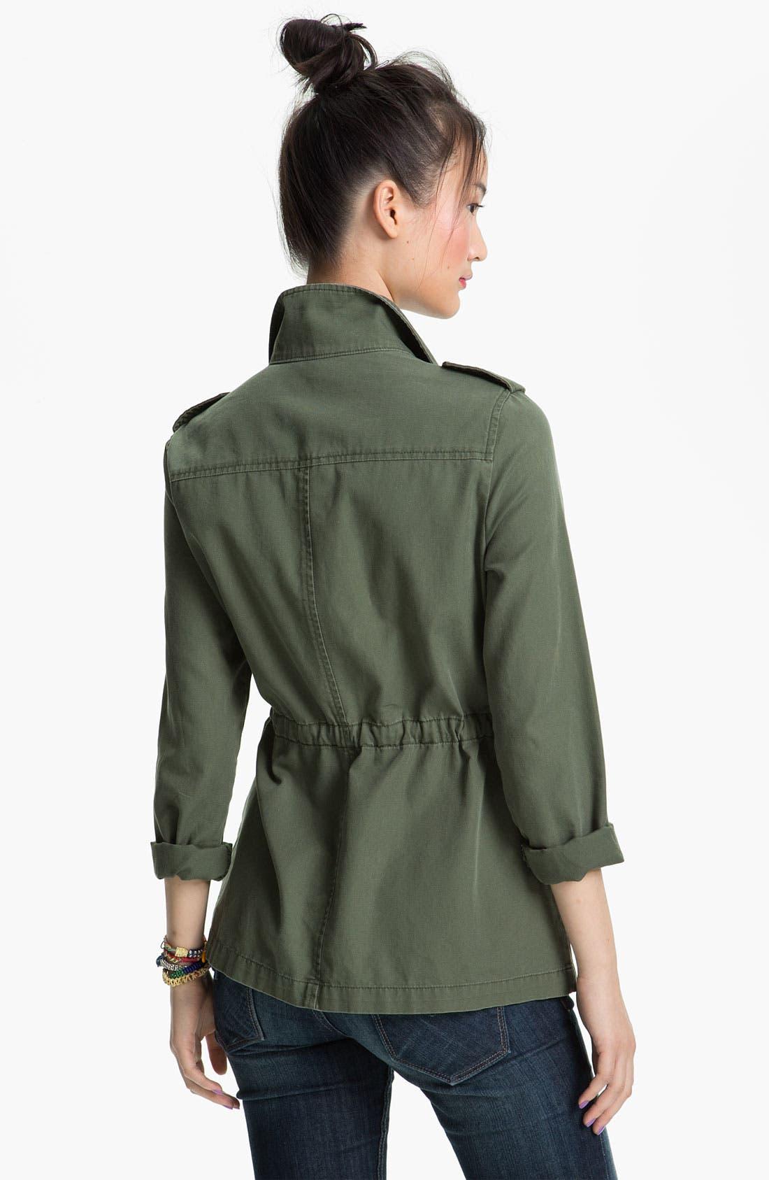 Alternate Image 2  - Rubbish® Utility Jacket (Juniors)