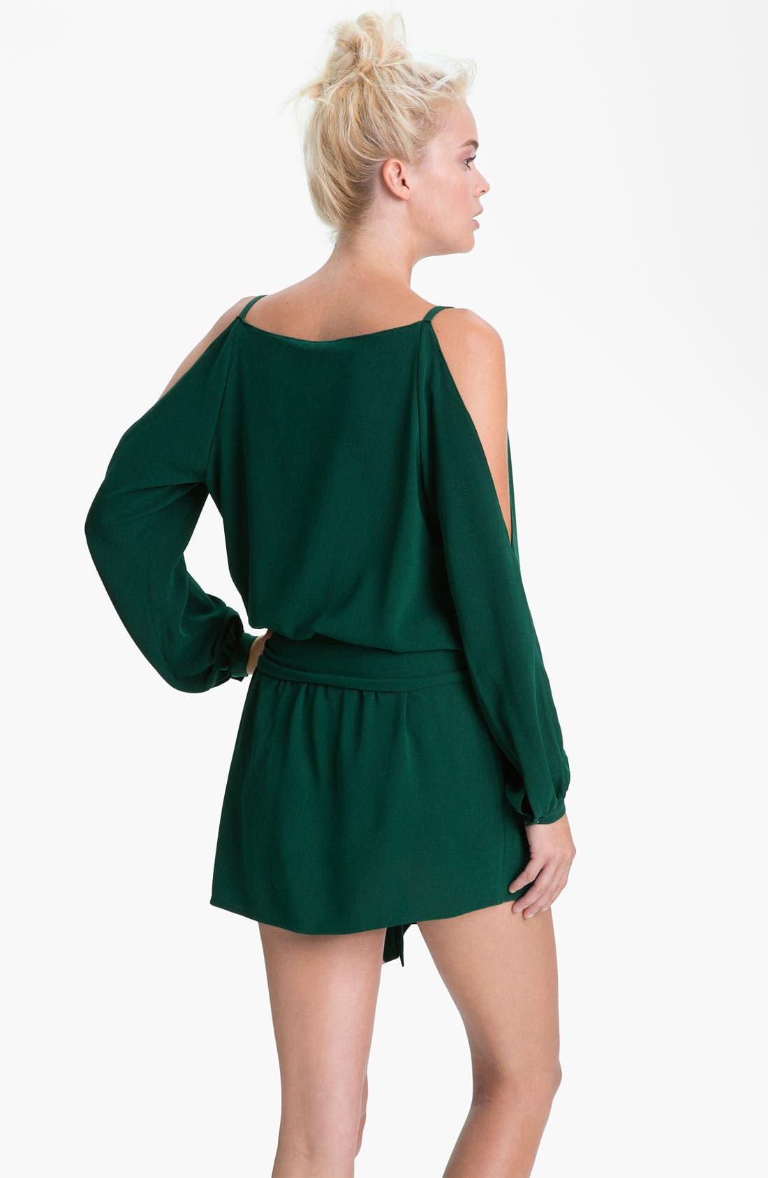 Alternate Image 2  - Haute Hippie Split Shoulder Dress