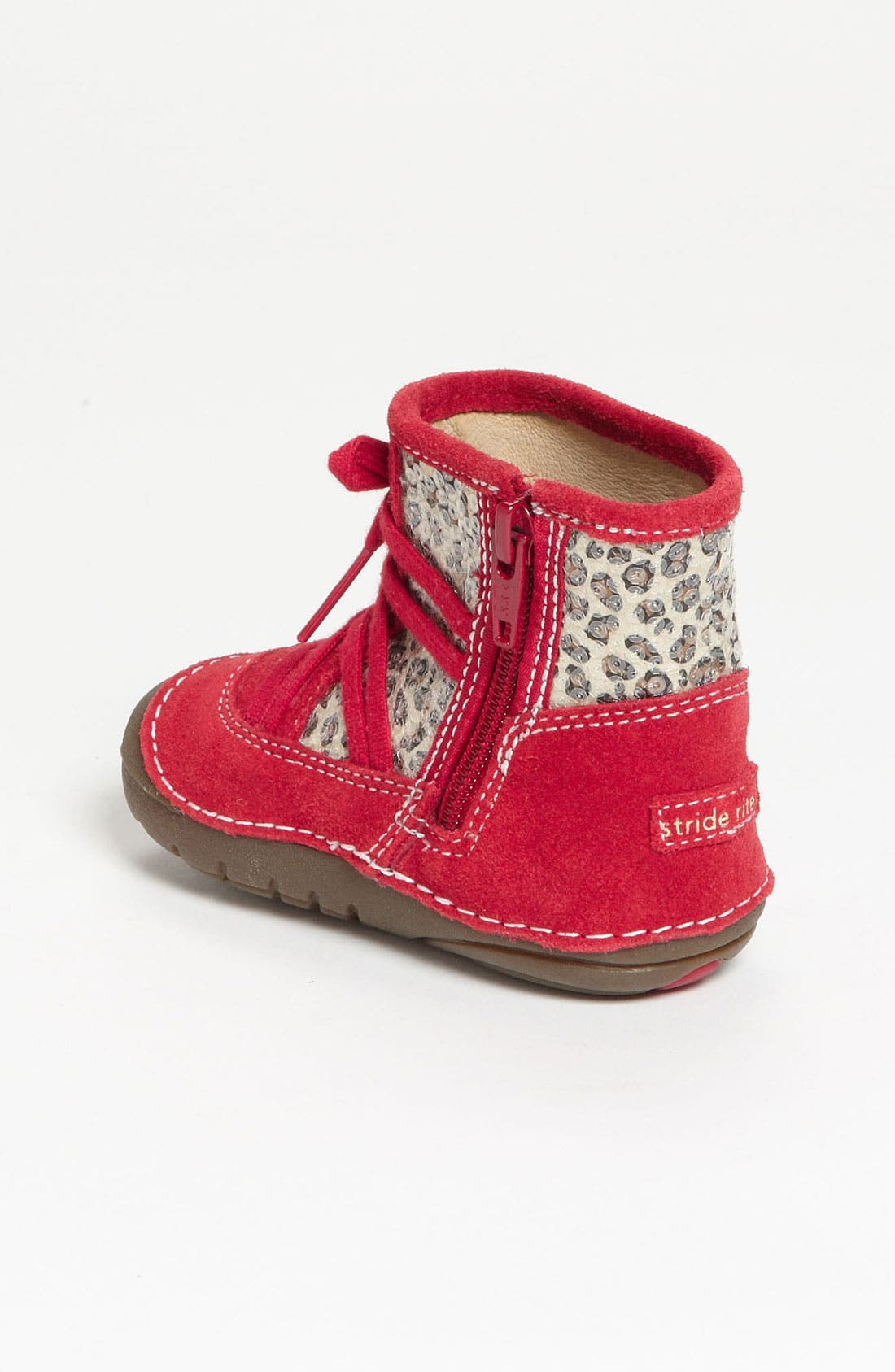 Alternate Image 2  - Stride Rite 'Holly' Boot (Baby & Walker)