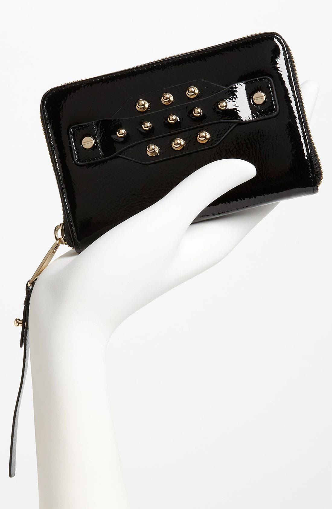 Alternate Image 2  - McQ by Alexander McQueen Patent Leather Wallet