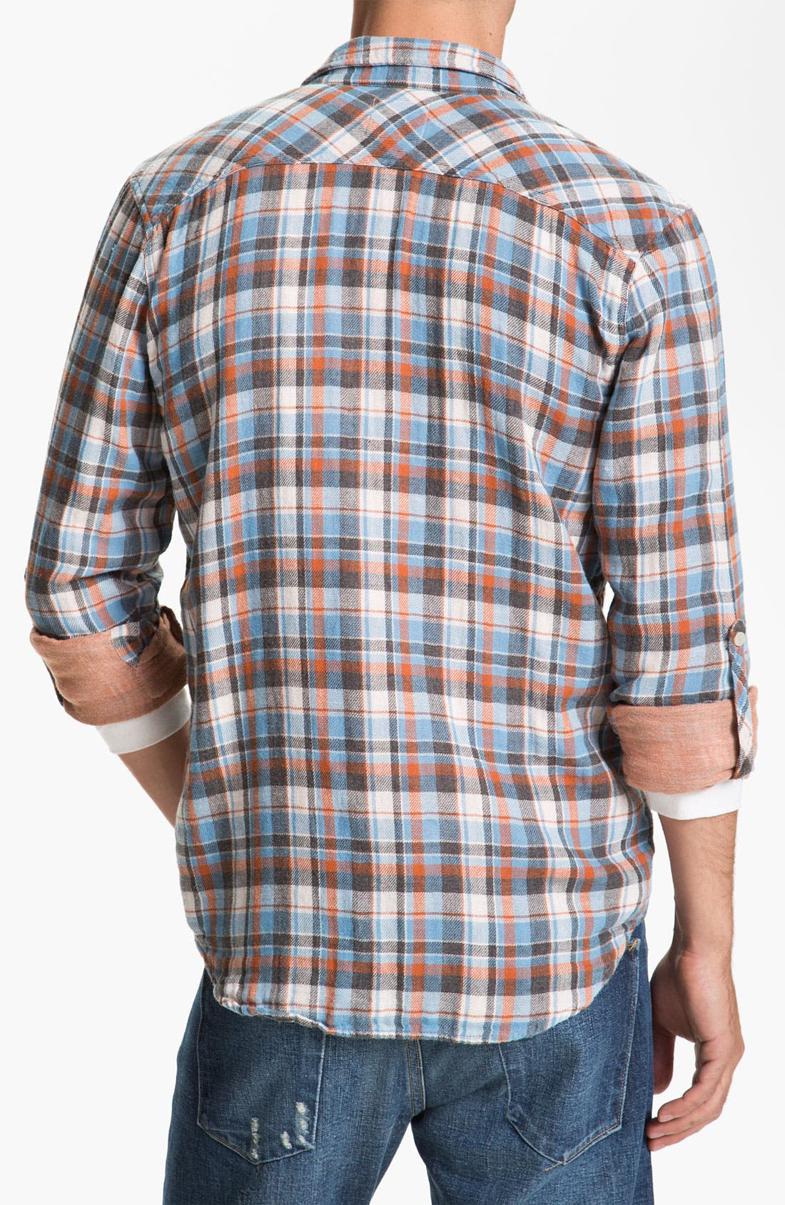 Alternate Image 2  - Splendid Mills 'Cliff' Plaid Cotton Flannel Shirt