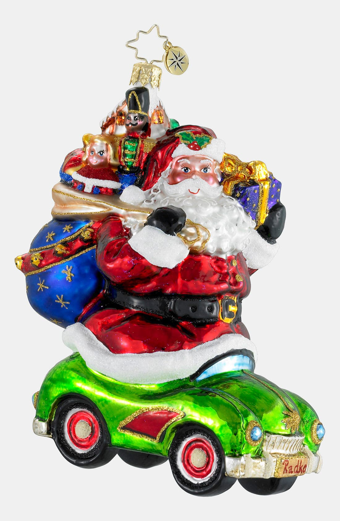 Main Image - Christopher Radko 'Hitching a Ride' Ornament