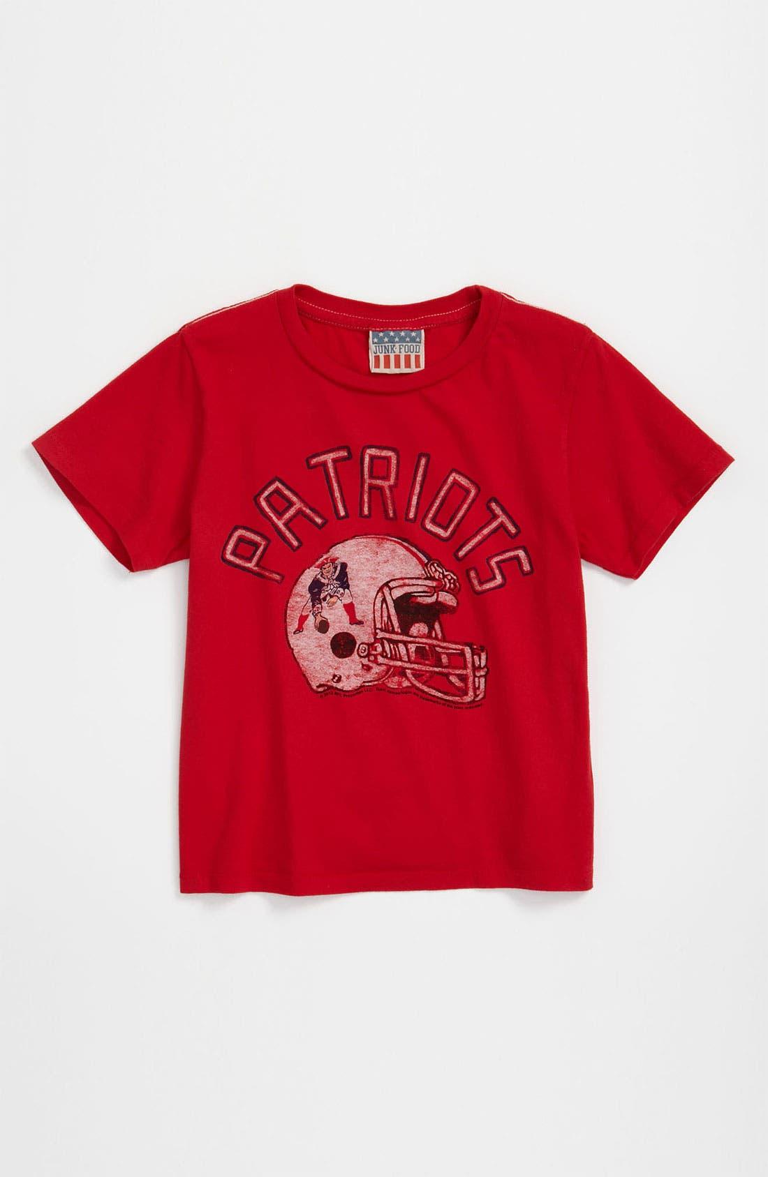 Main Image - Junk Food 'New England Patriots' T-Shirt (Infant)