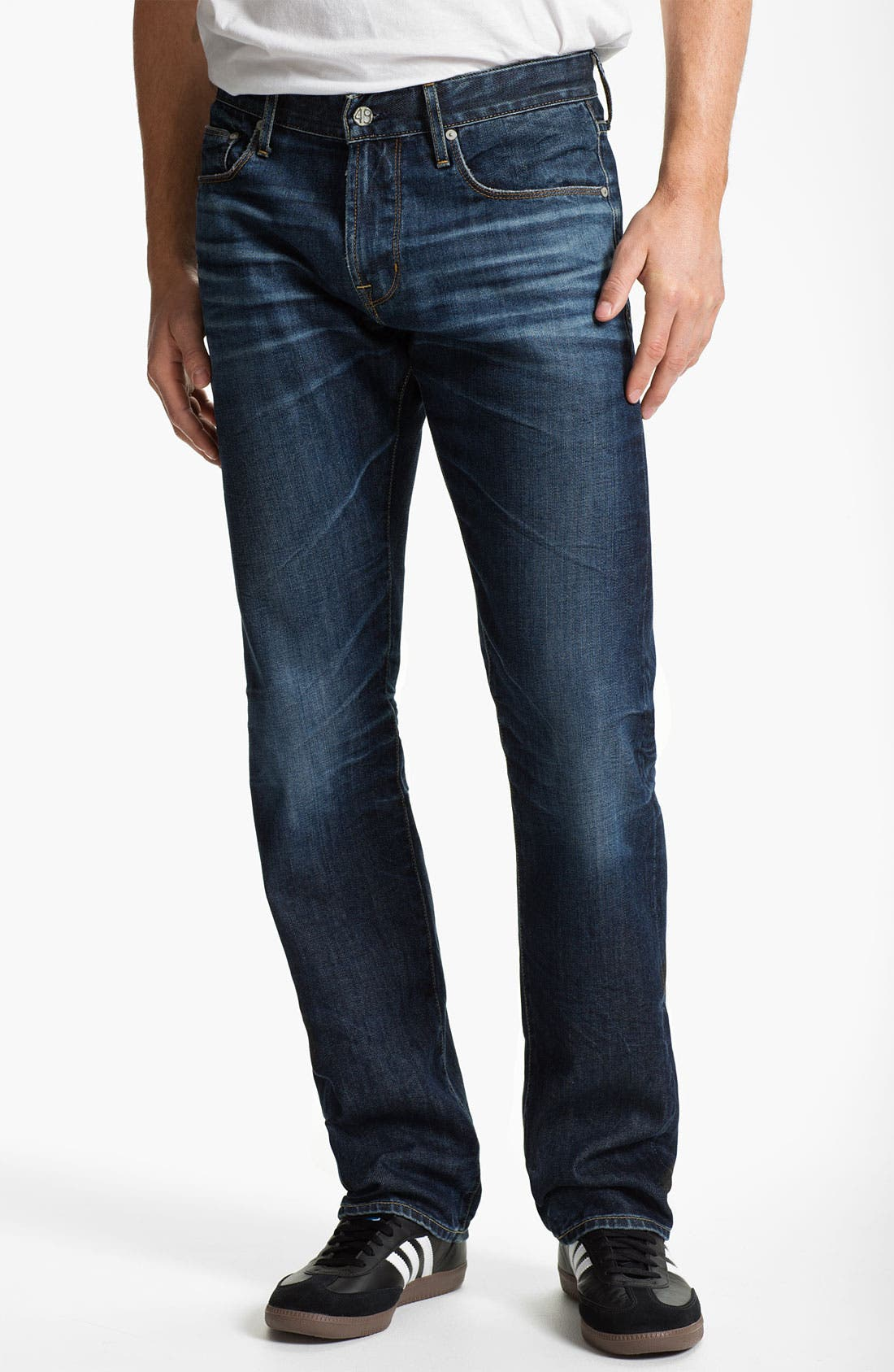 Alternate Image 1 Selected - AG 'Geffen Easy Slim' Straight Leg Jeans (7 Year Lounge)