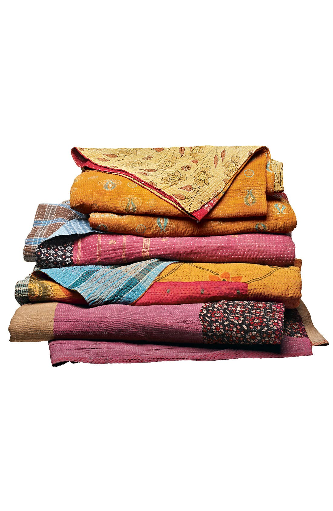 Alternate Image 4  - Kantha Hand Crafted Throw