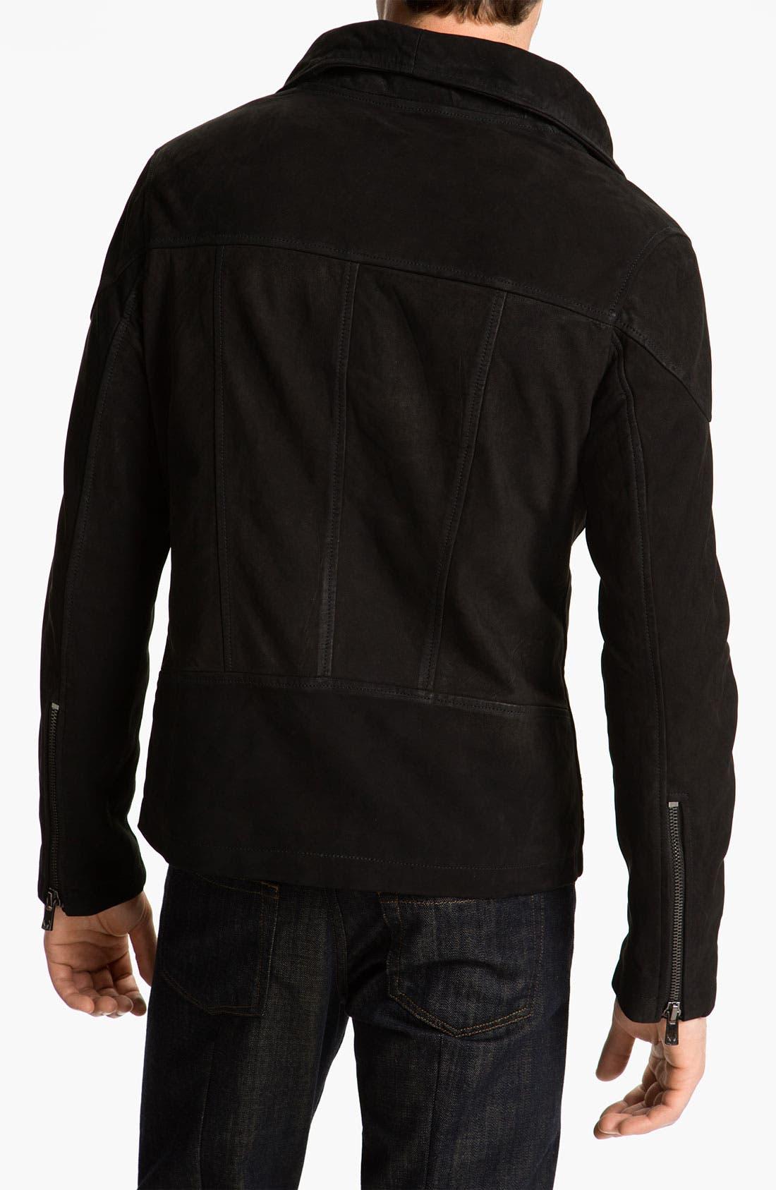 Alternate Image 2  - Bod & Christensen Nubuck Jacket