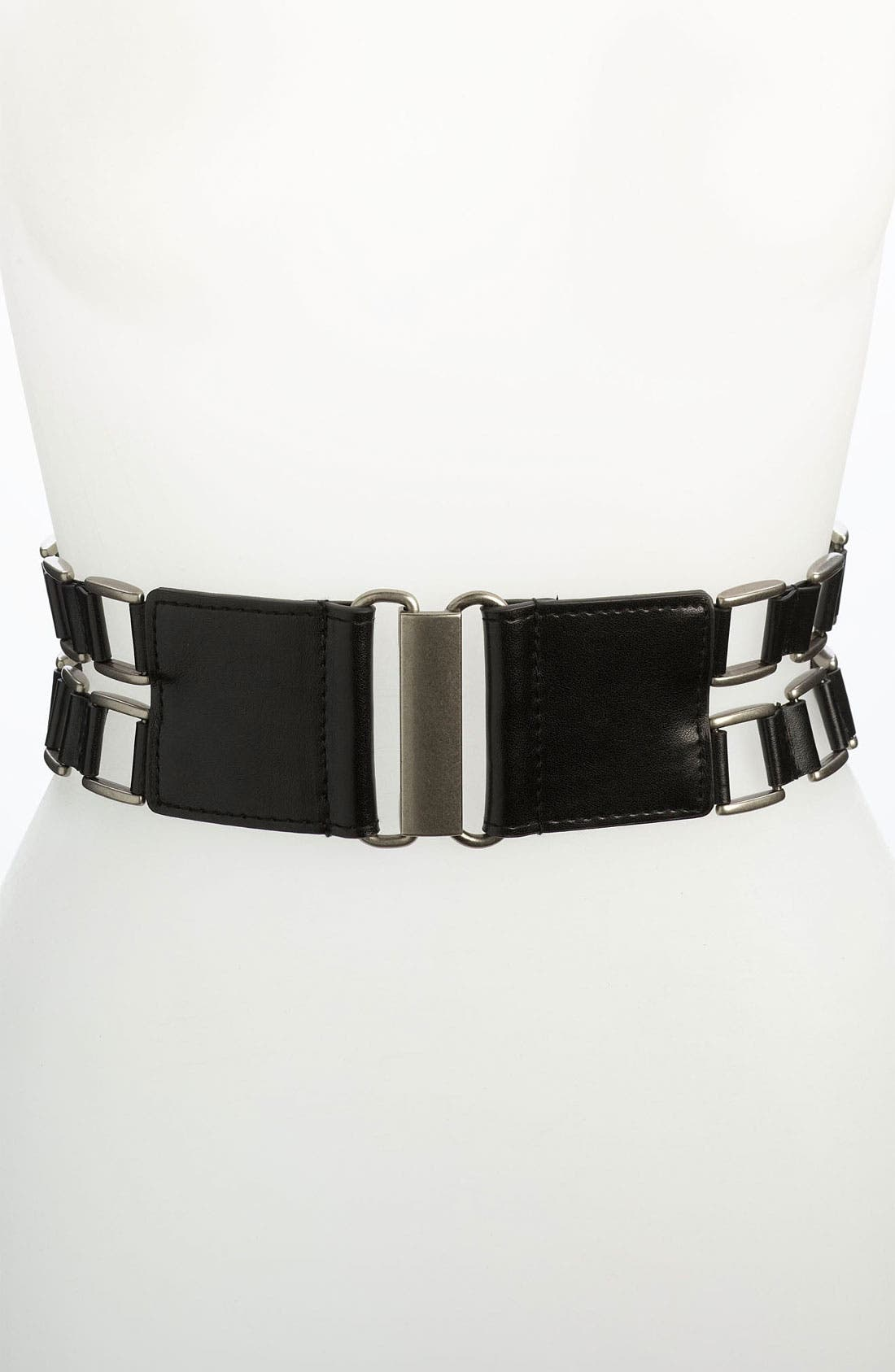 Alternate Image 1 Selected - Belgo Lux Stretch Belt