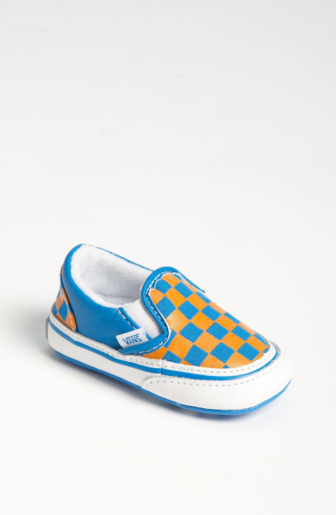 Alternate Image 1 Selected - Vans 'Classic - Checker' Crib Shoe (Infant)