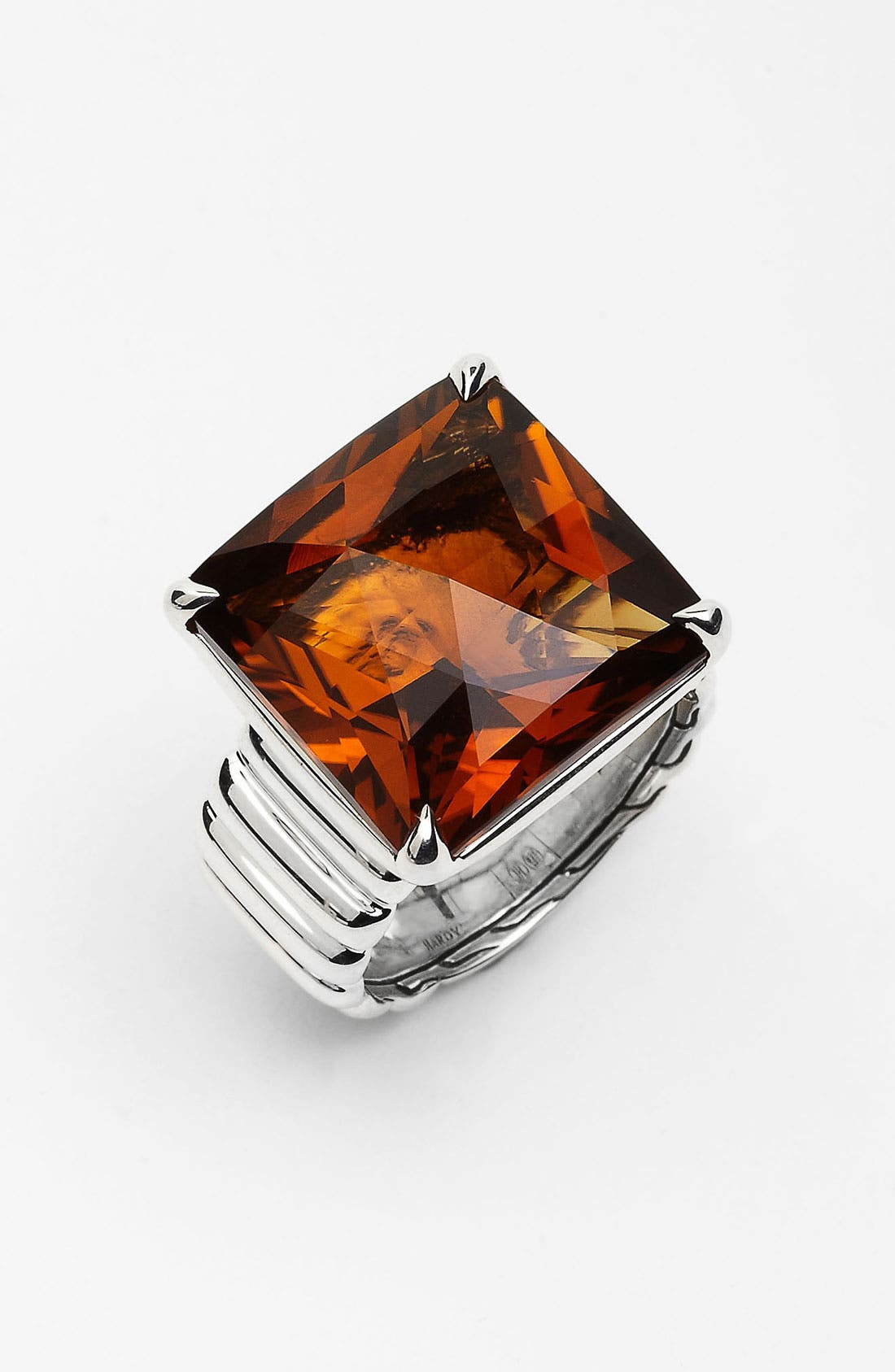 Alternate Image 1 Selected - John Hardy 'Bedeg' Large Square Ring