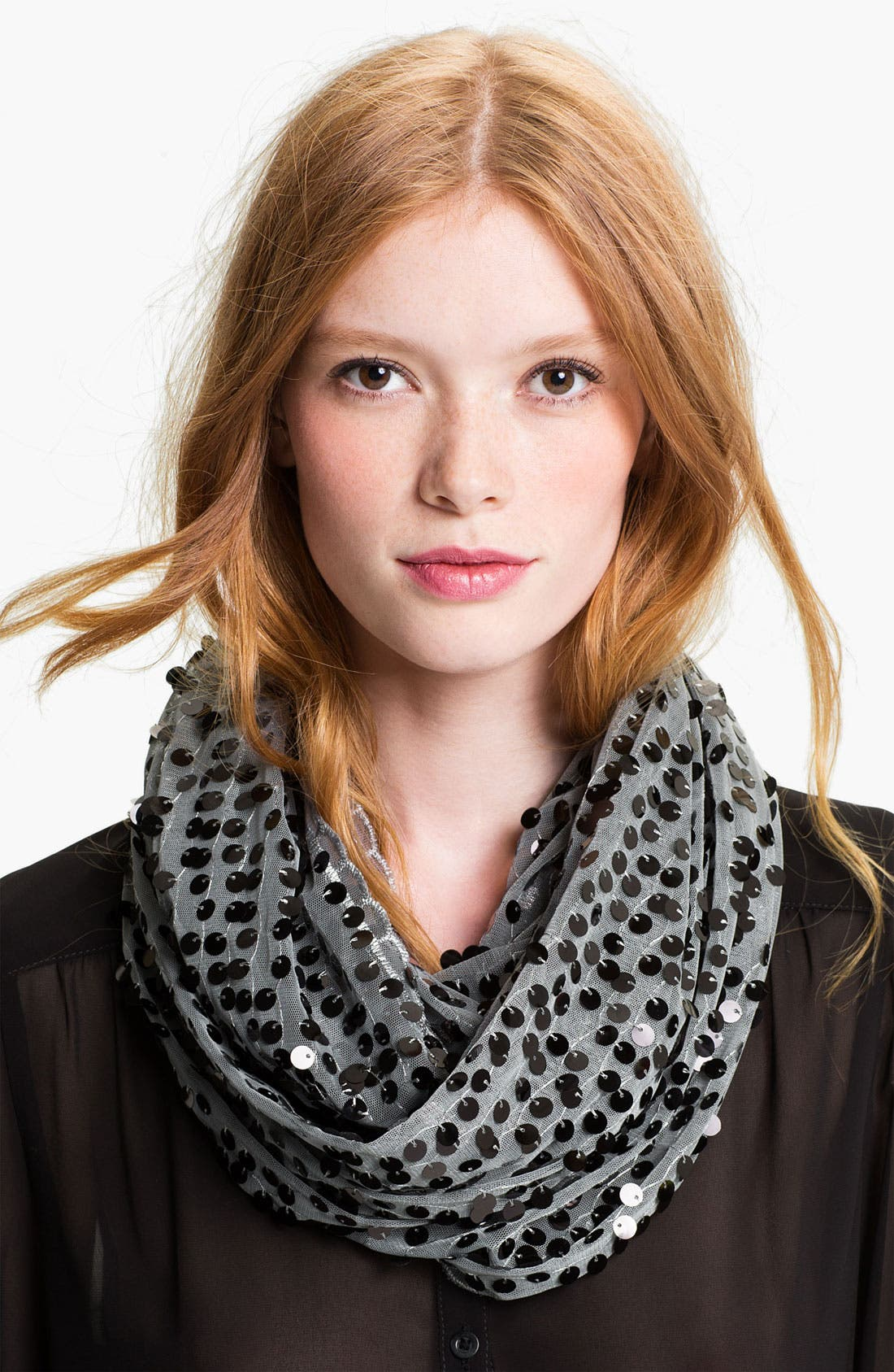 Main Image - Collection XIIX 'All Over Sequin' Infinity Scarf