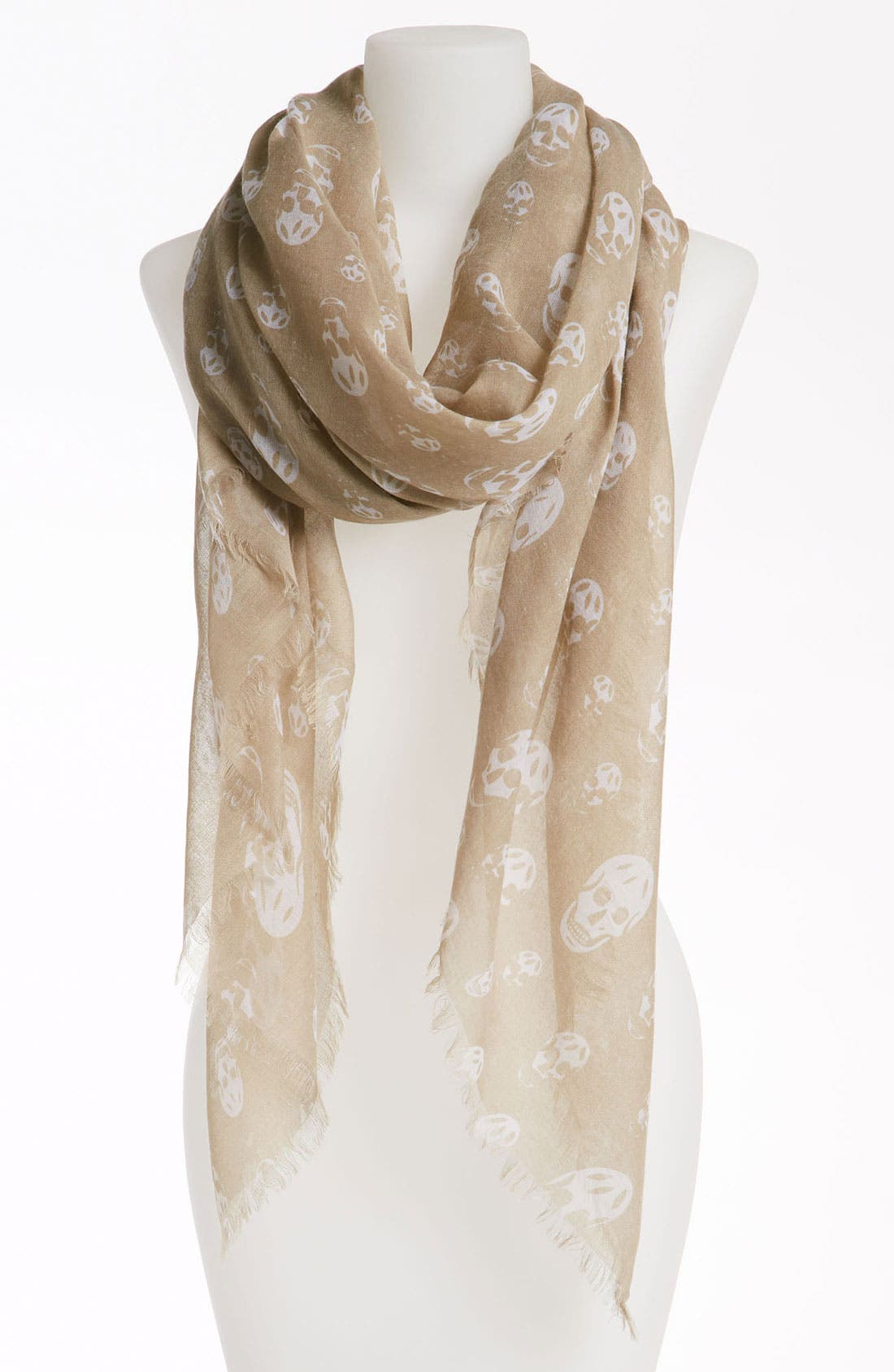 Main Image - David & Young 'Skull' Scarf
