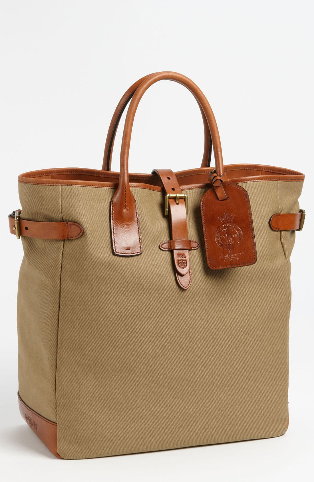 Alternate Image 1 Selected - Polo Ralph Lauren Canvas Tote Bag