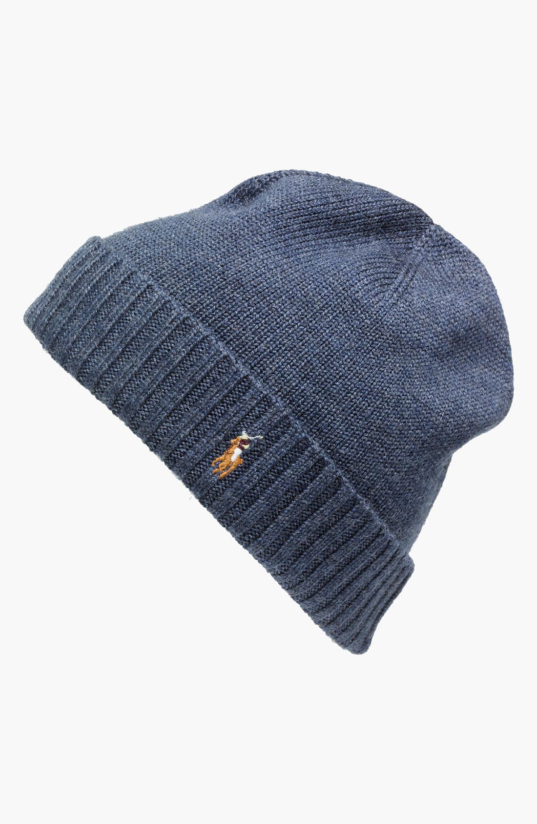 Main Image - Polo Ralph Lauren 'Classic Lux' Merino Wool Knit Cap