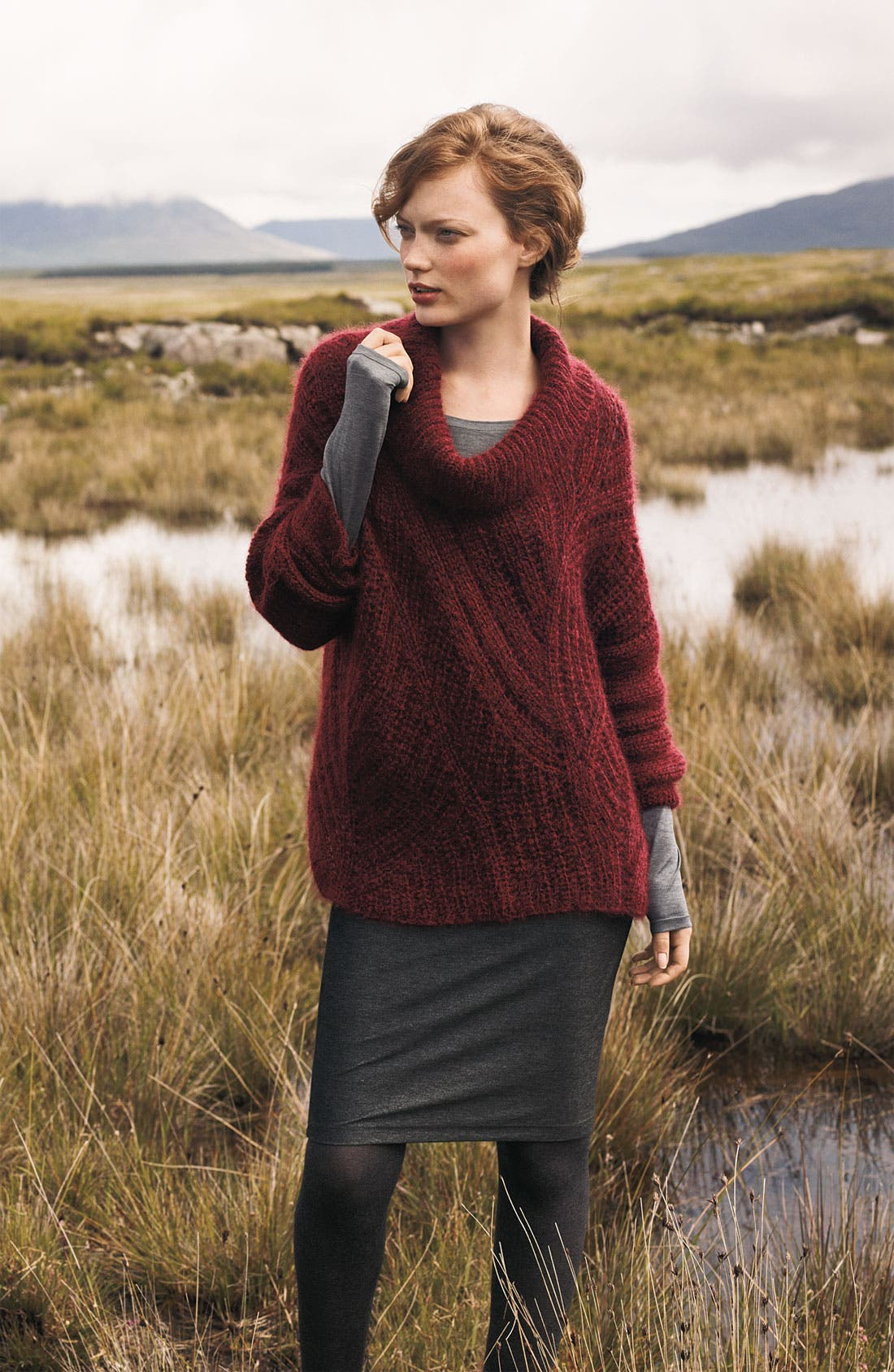 Alternate Image 4  - Eileen Fisher Knit Pencil Skirt