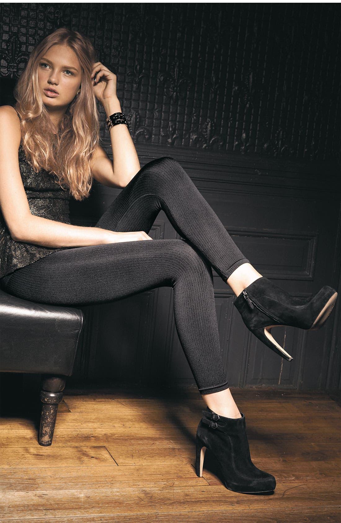 Alternate Image 3  - SPANX® 'Look at Me' Ribbed Leggings