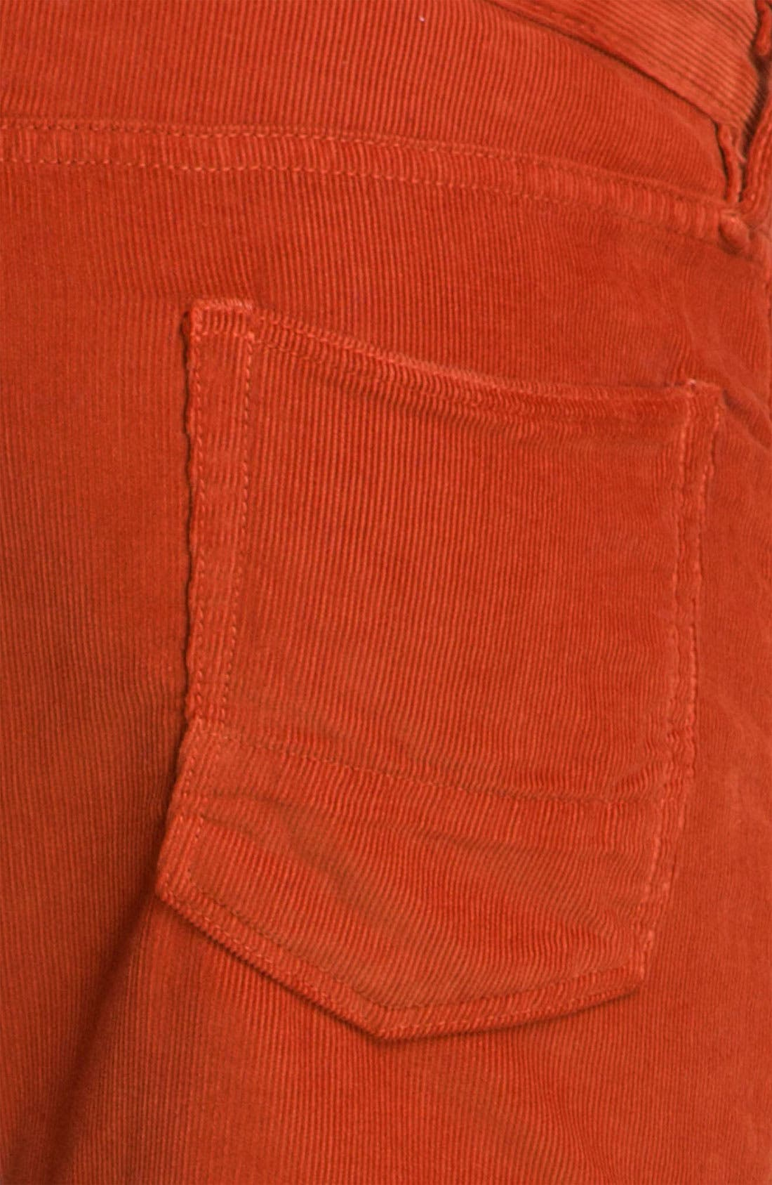 Alternate Image 3  - NSF Clothing Slim Straight Leg Corduroy Pants