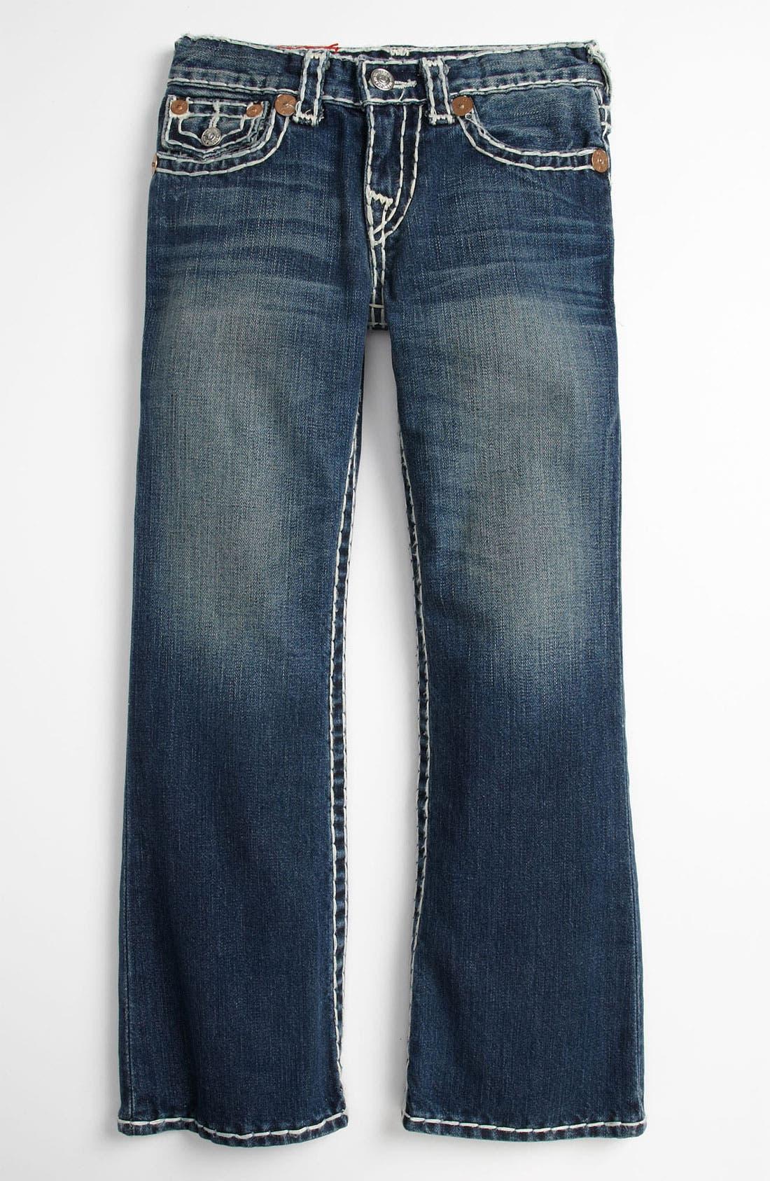 Alternate Image 2  - True Religion Brand Jeans 'Billy' Bootcut Jeans (Big Boys)