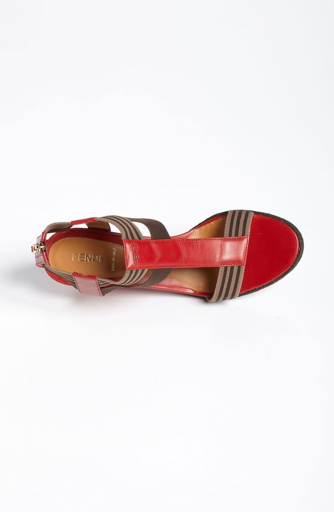Alternate Image 3  - Fendi 'Carioca' Wedge Sandal