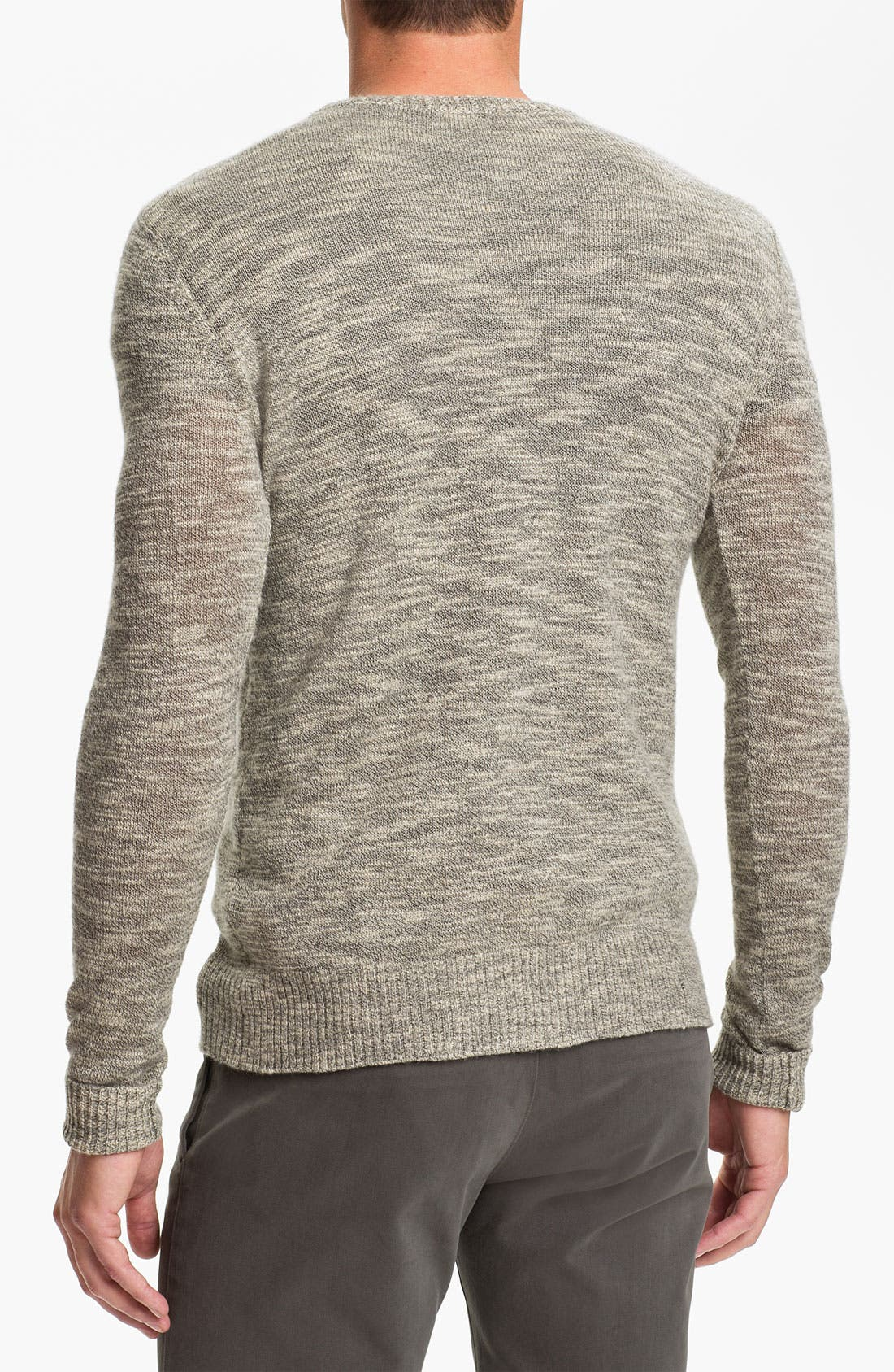 Alternate Image 2  - Theory Crewneck Silk Blend Sweater