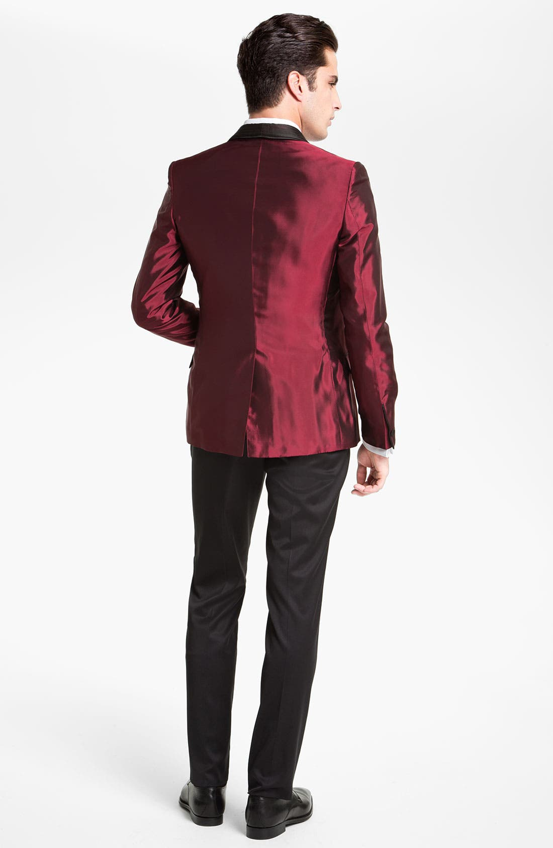 Alternate Image 5  - Versace Trim Fit Dinner Jacket