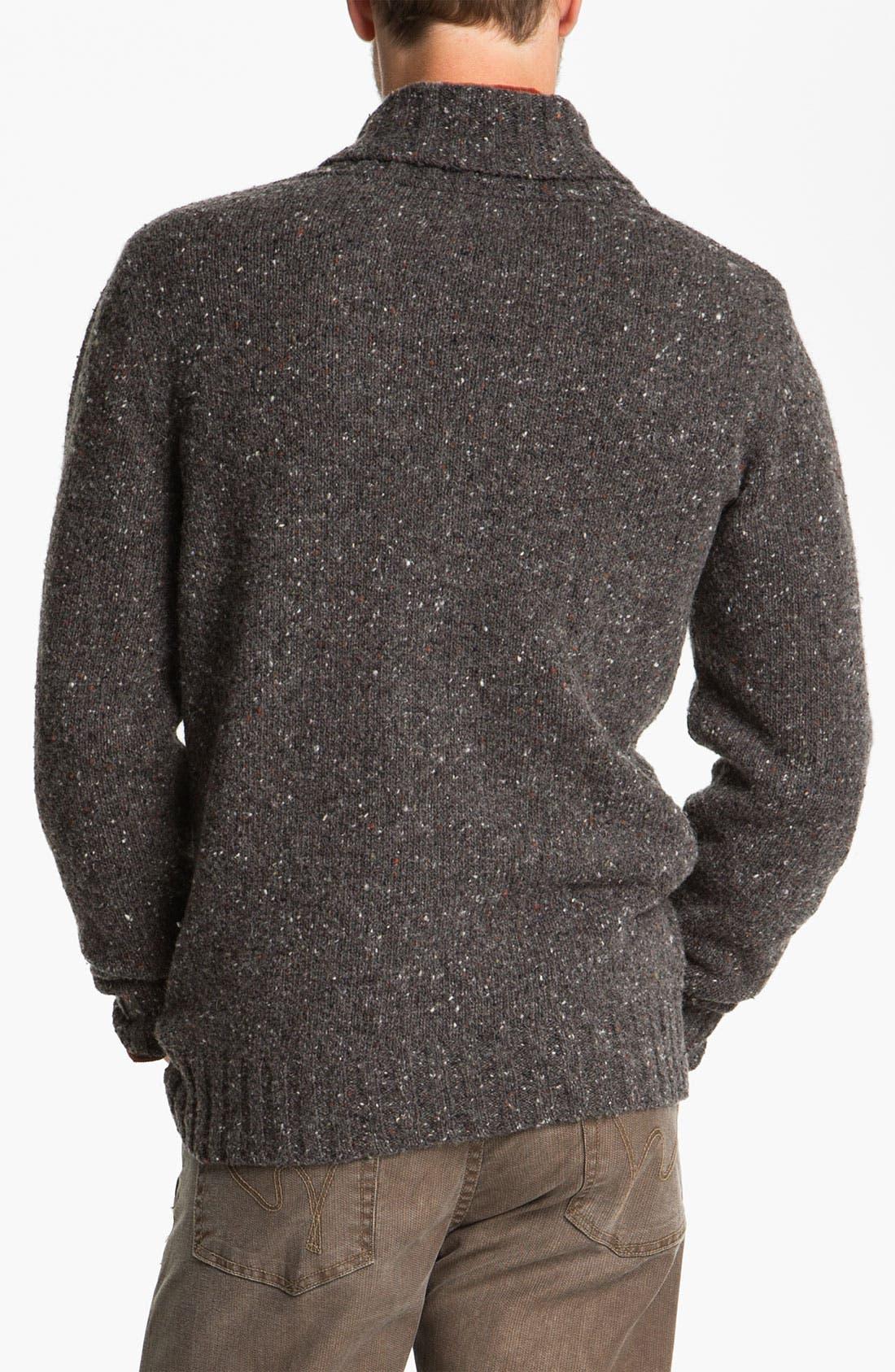 Alternate Image 2  - Fiesole Shawl Collar Wool Blend Cardigan