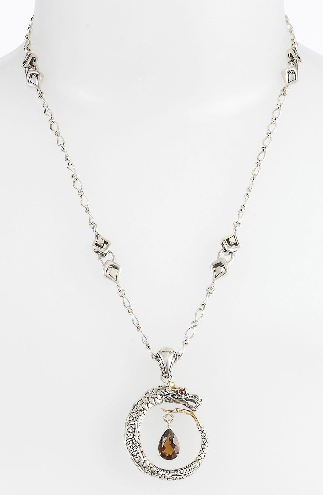 Alternate Image 1 Selected - John Hardy 'Naga' Dragon Pendant Necklace