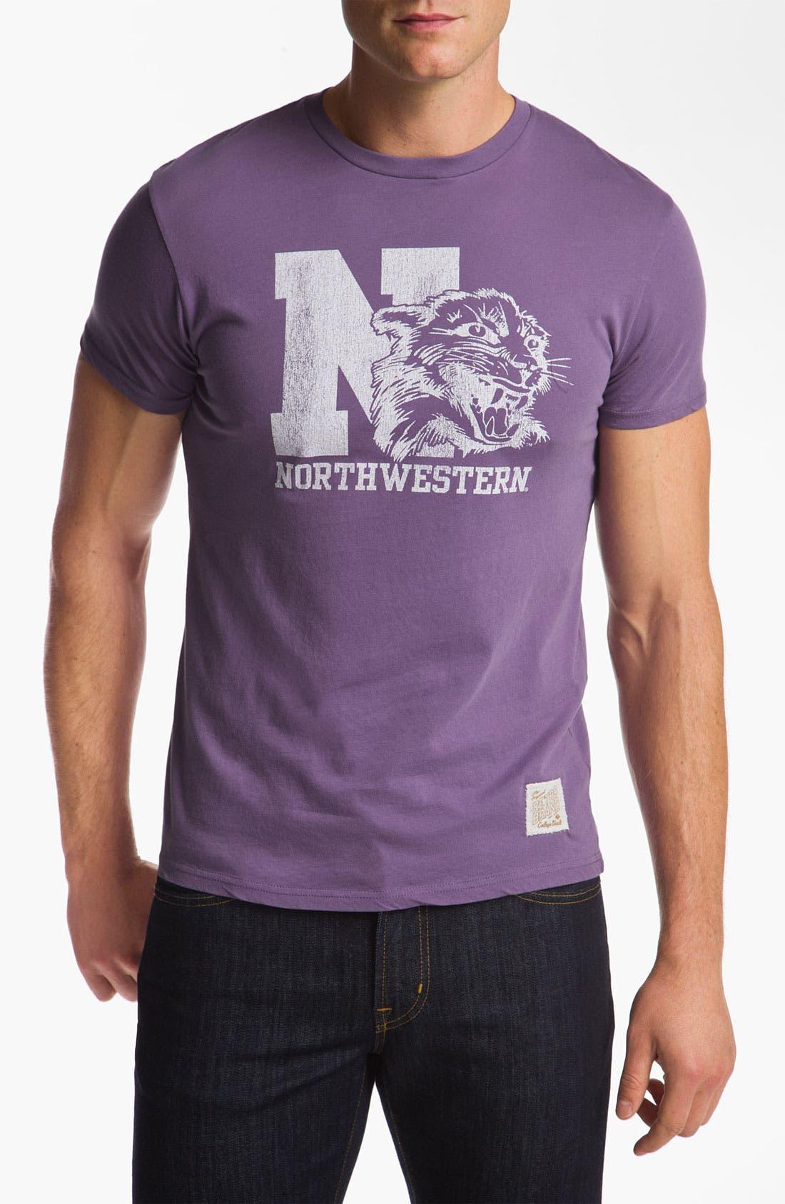 Alternate Image 1 Selected - The Original Retro Brand 'Northwestern Wildcats' T-Shirt
