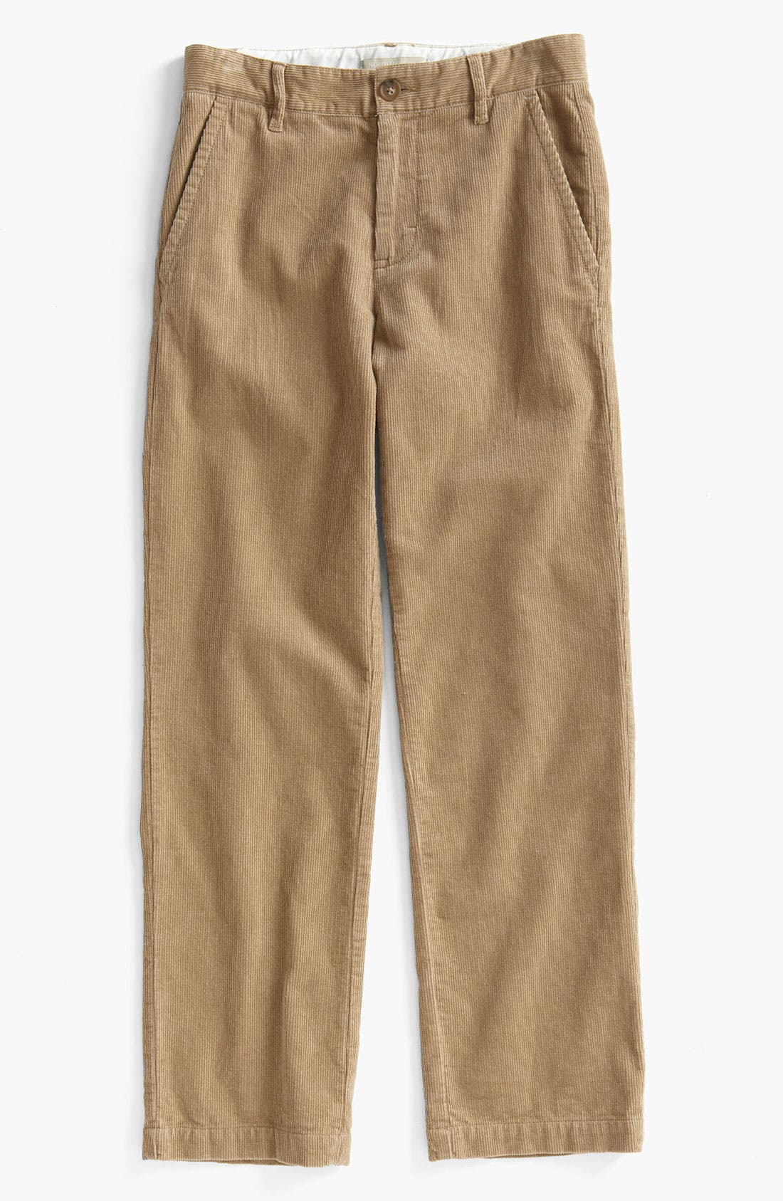 Main Image - Nordstrom 'Edward' Corduroy Trousers (Big Boys)