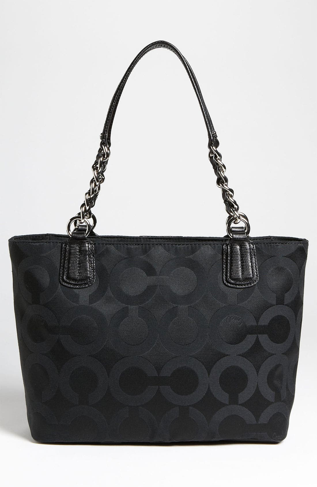 Alternate Image 4  - COACH 'Op Art' Sateen Tote