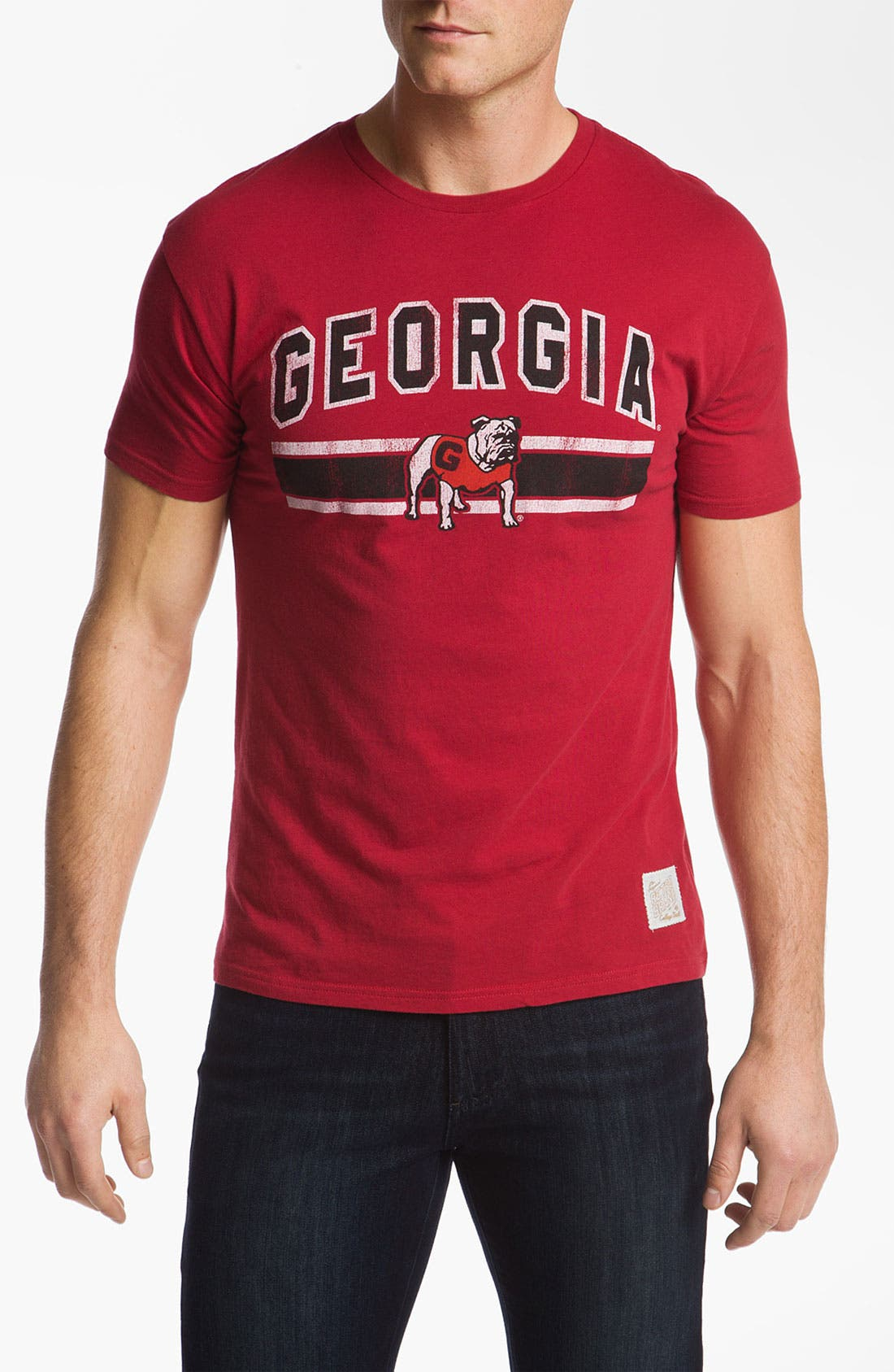 Main Image - The Original Retro Brand 'Georgia Bulldogs' T-Shirt