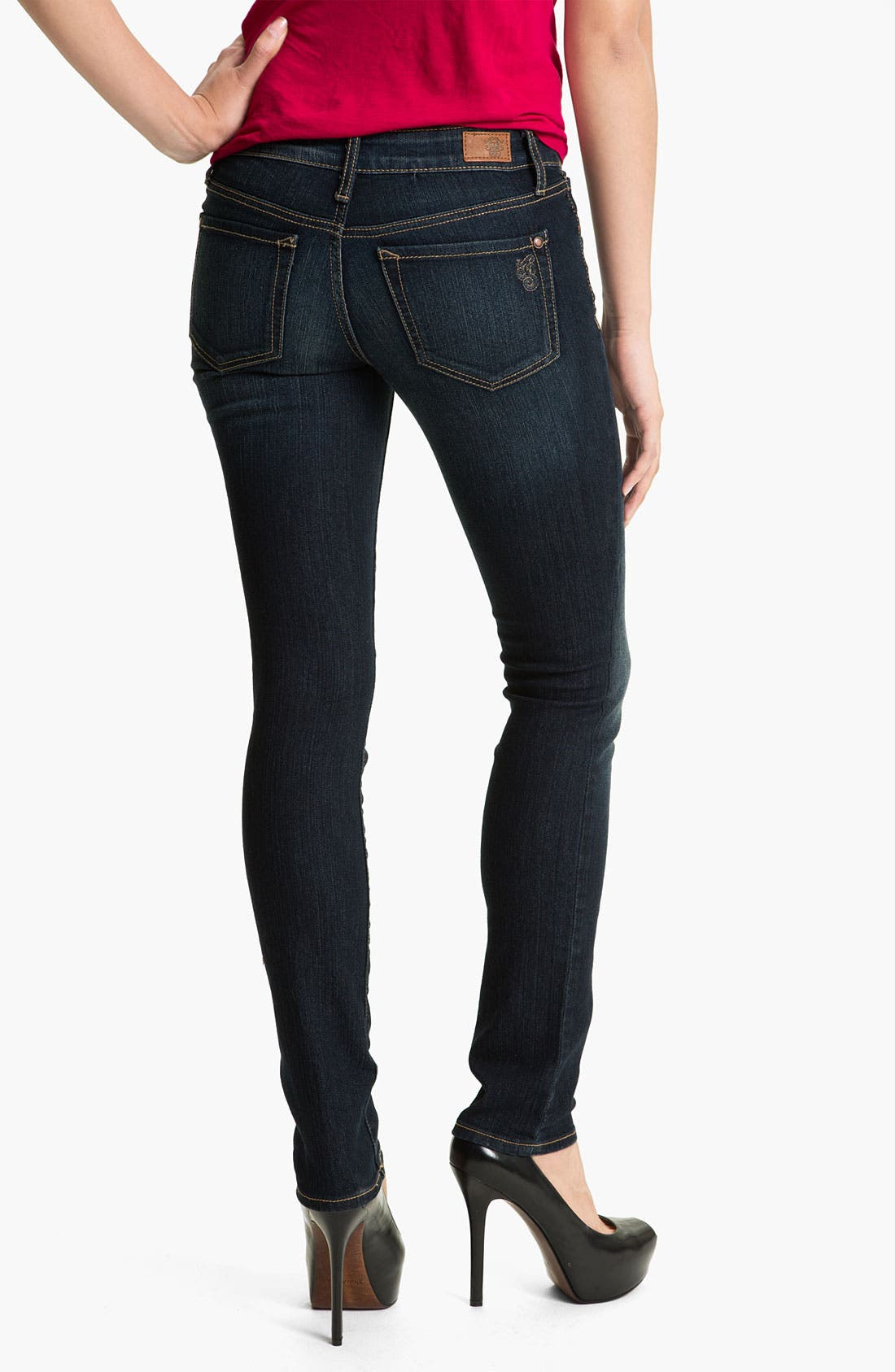 Alternate Image 2  - Jessica Simpson 'Forever' Skinny Jeans (Online Only)
