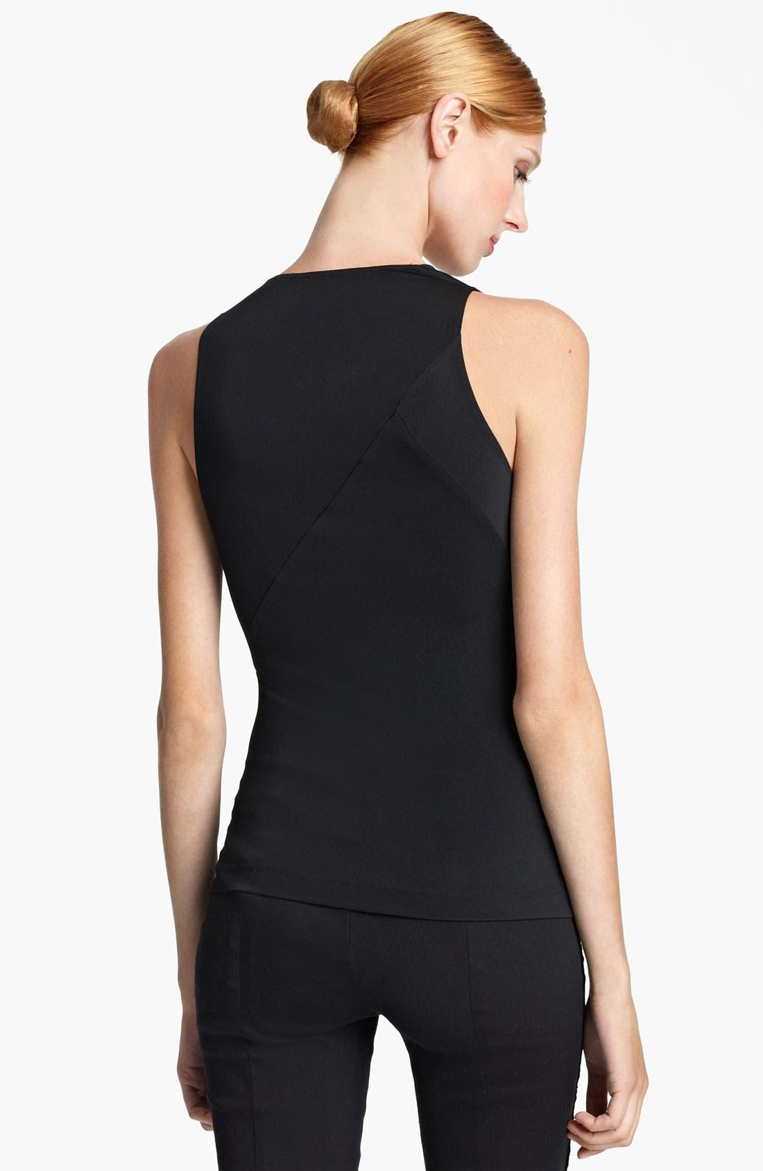 Alternate Image 2  - Donna Karan Collection Side Drape Jersey Top
