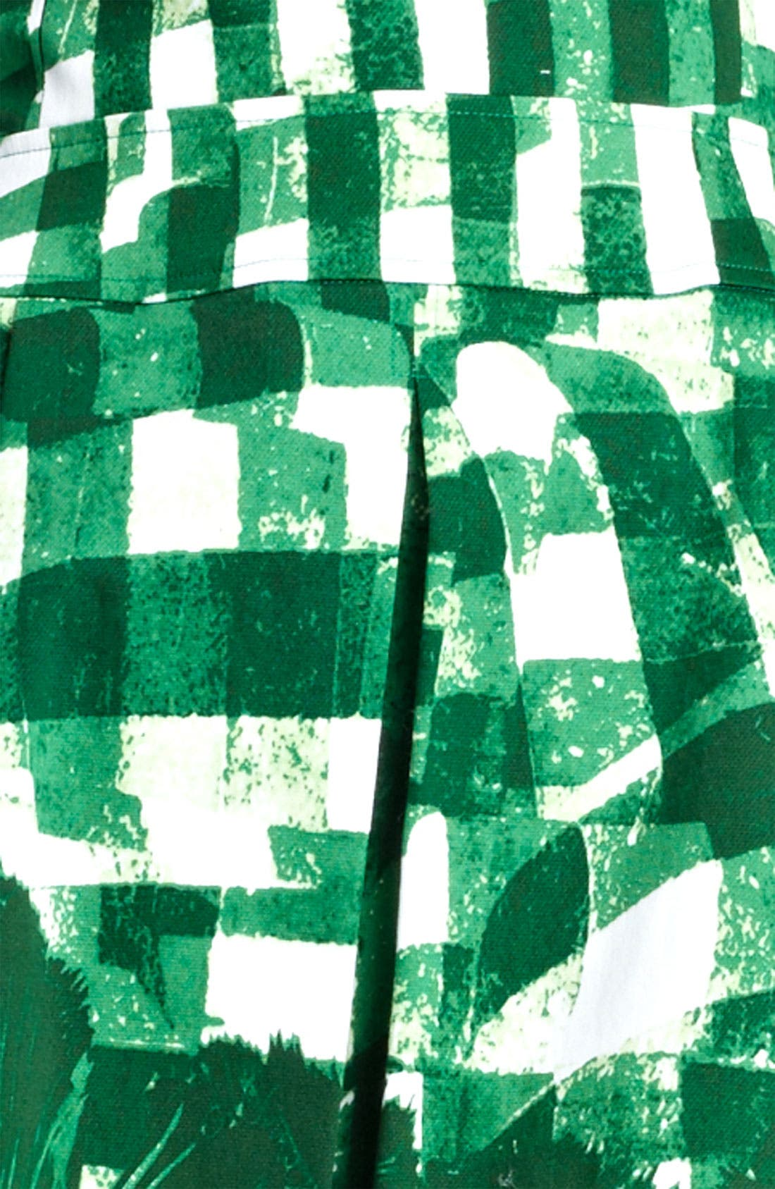 Alternate Image 3  - Oscar de la Renta Print Piqué Dress