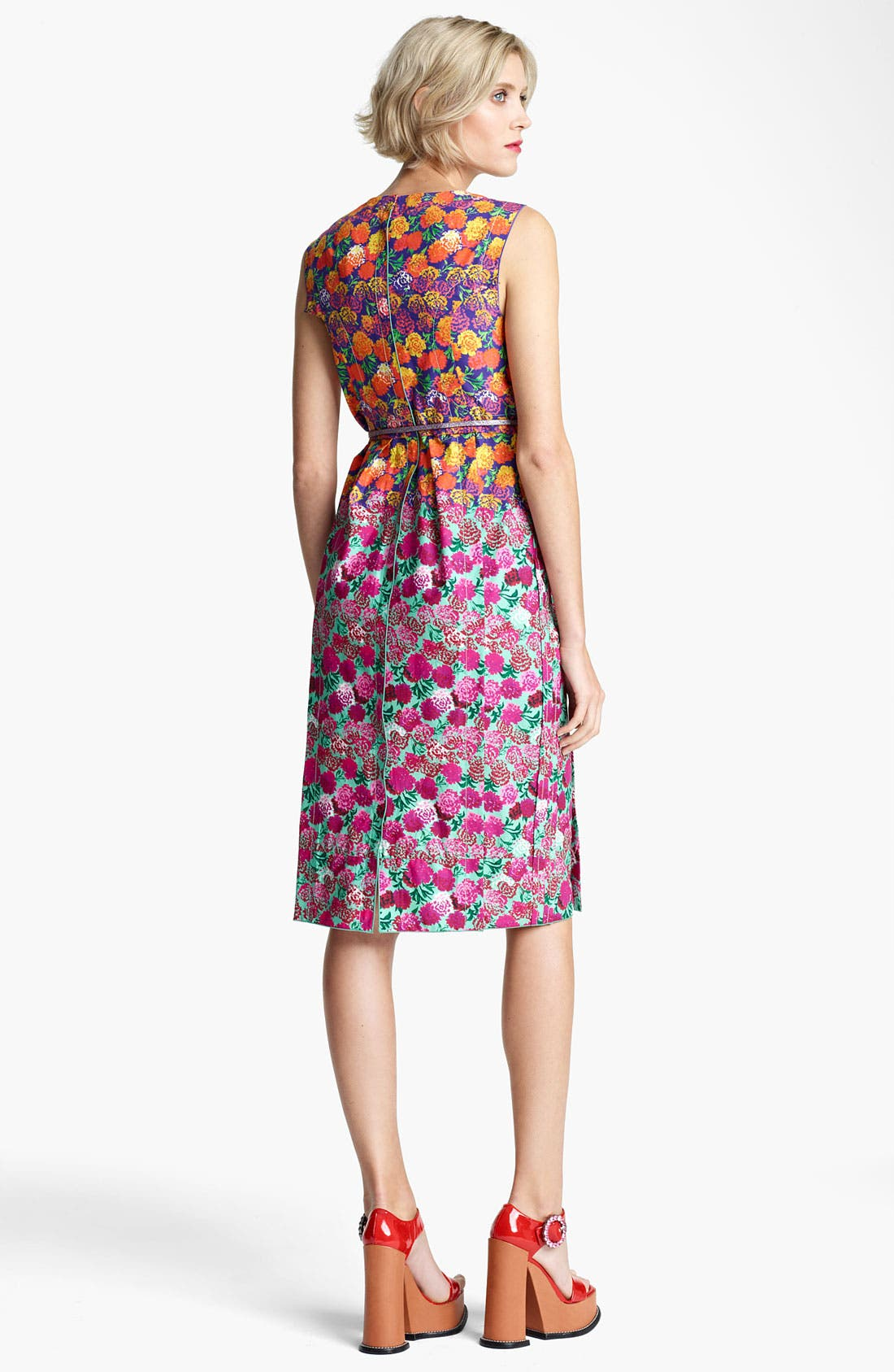 Alternate Image 2  - MARC JACOBS Bicolor Flower Print Dress
