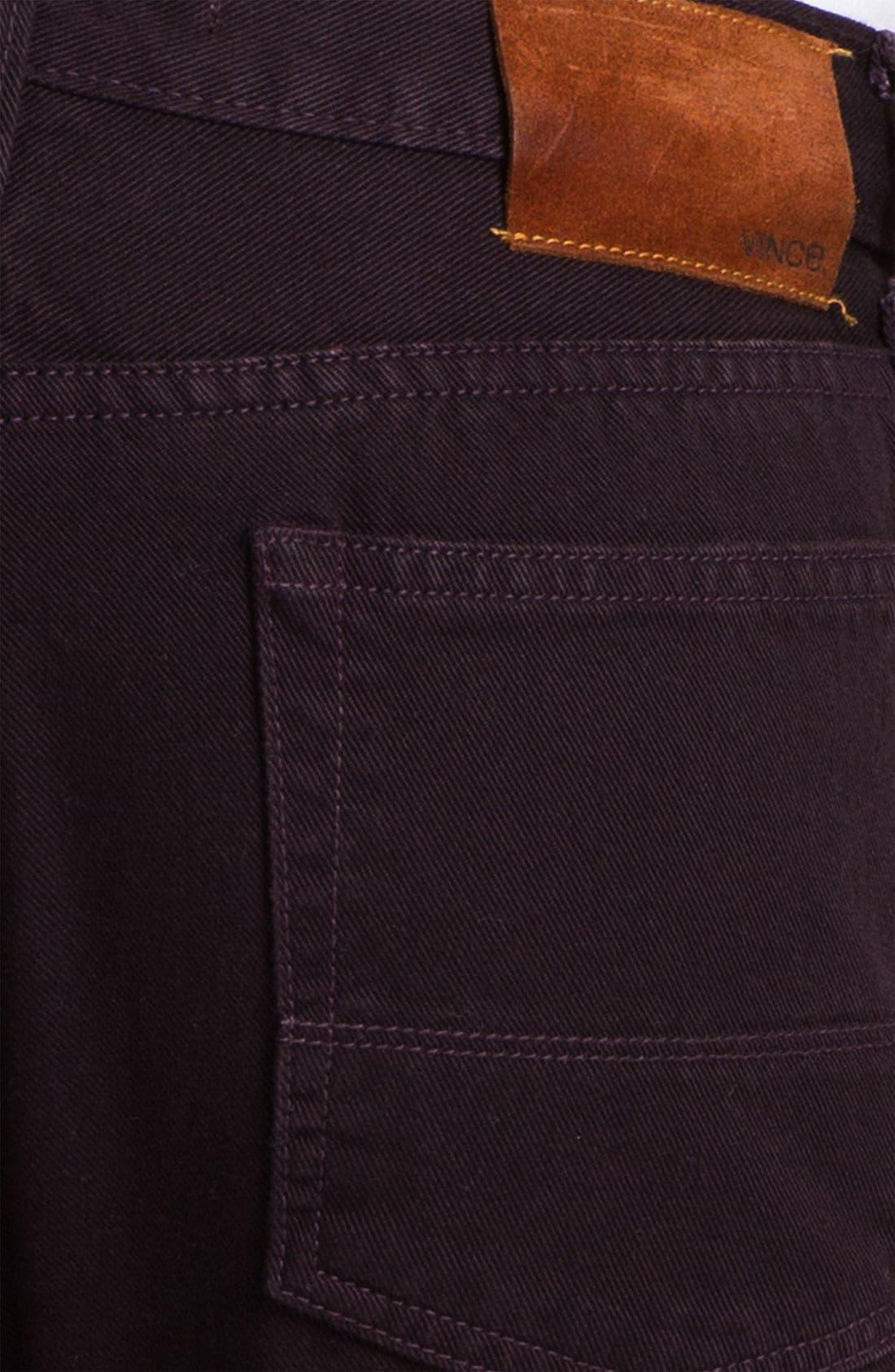 Alternate Image 3  - Vince Slim Straight Leg Twill Pants