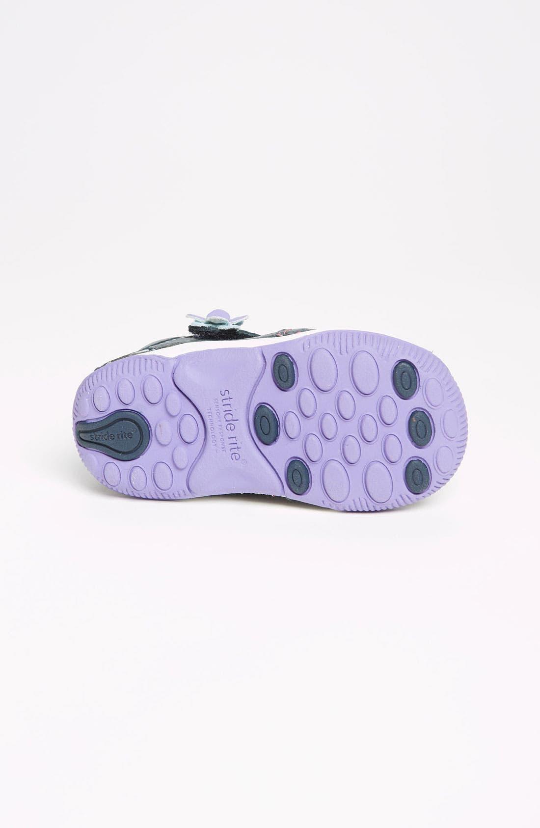Alternate Image 4  - Stride Rite 'Rain' Sneaker (Baby, Walker & Toddler)