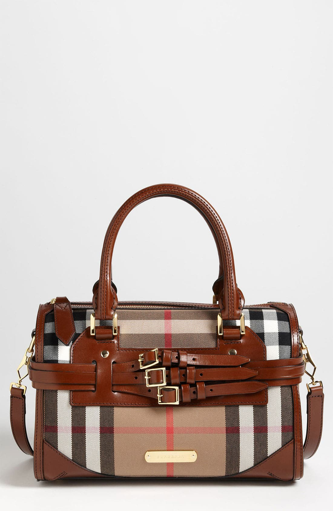 Alternate Image 1 Selected - Burberry 'House Check' Satchel