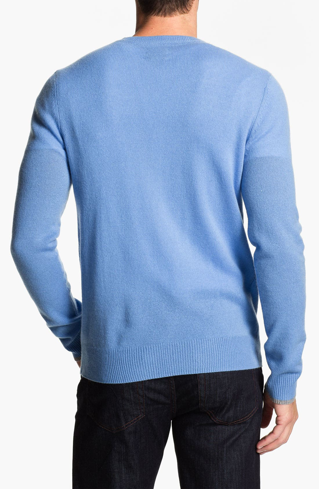 Alternate Image 2  - 1901 Trim Fit V-Neck Cashmere Sweater