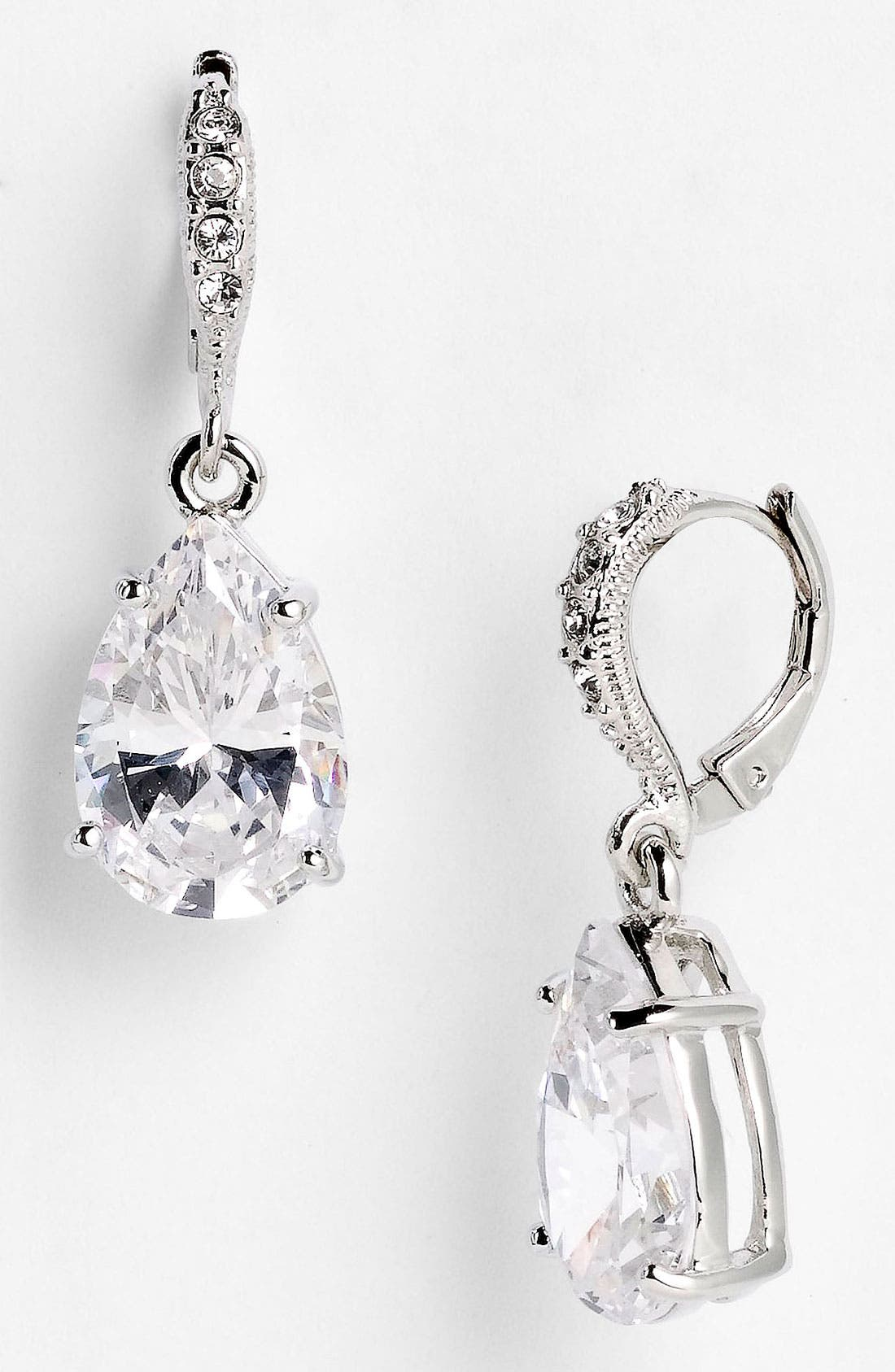 Alternate Image 1 Selected - Givenchy Teardrop Earrings