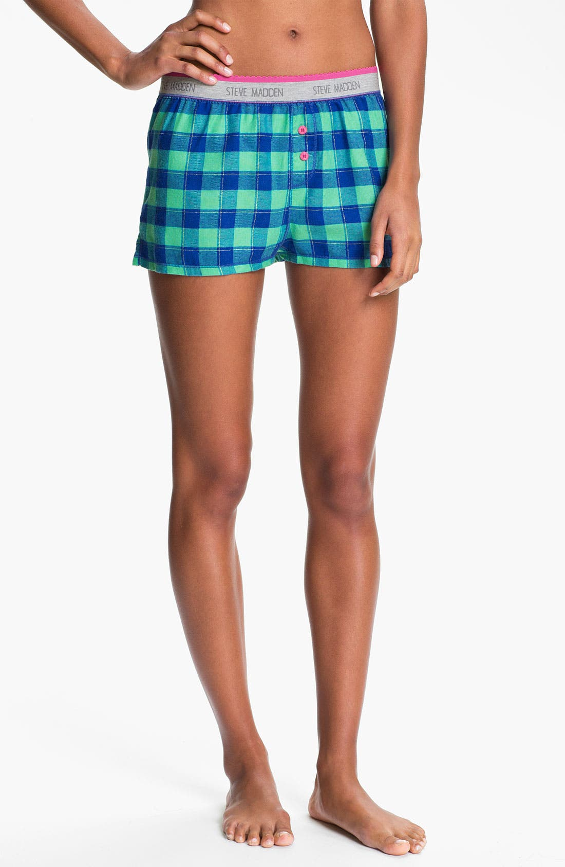 Alternate Image 1 Selected - Steve Madden 'Pattern Play' Boxer Shorts