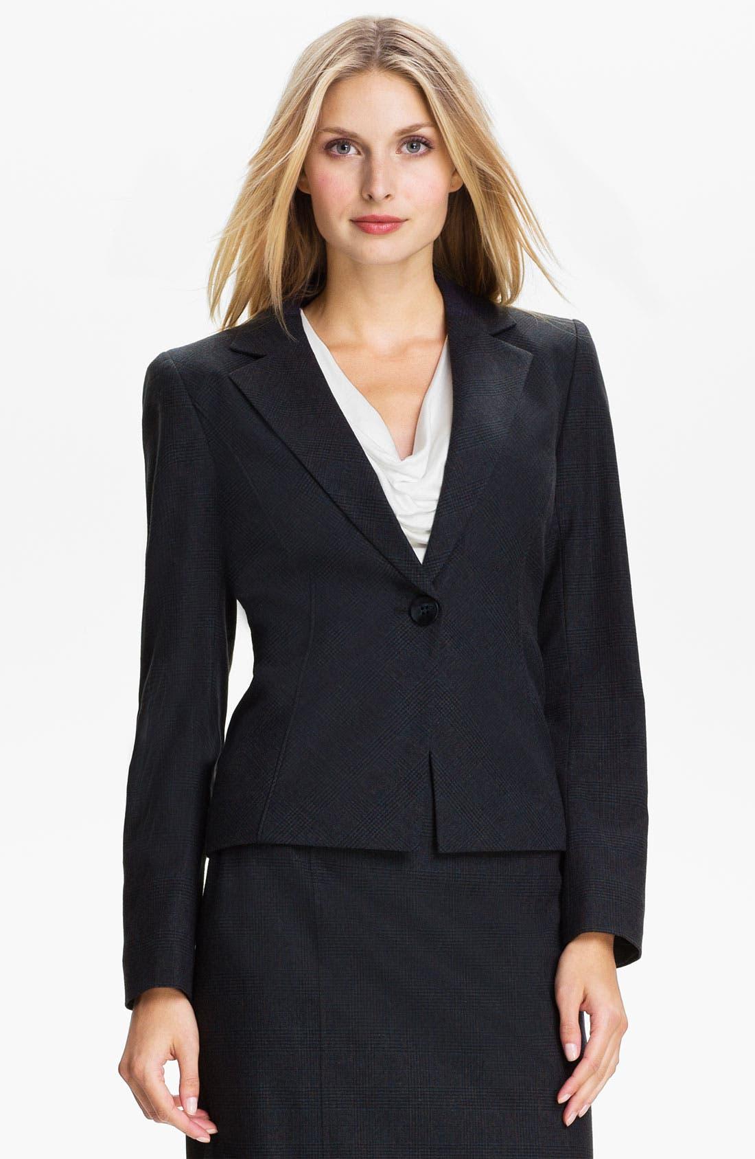 Alternate Image 1 Selected - Classiques Entier® 'Adima Check' Jacket