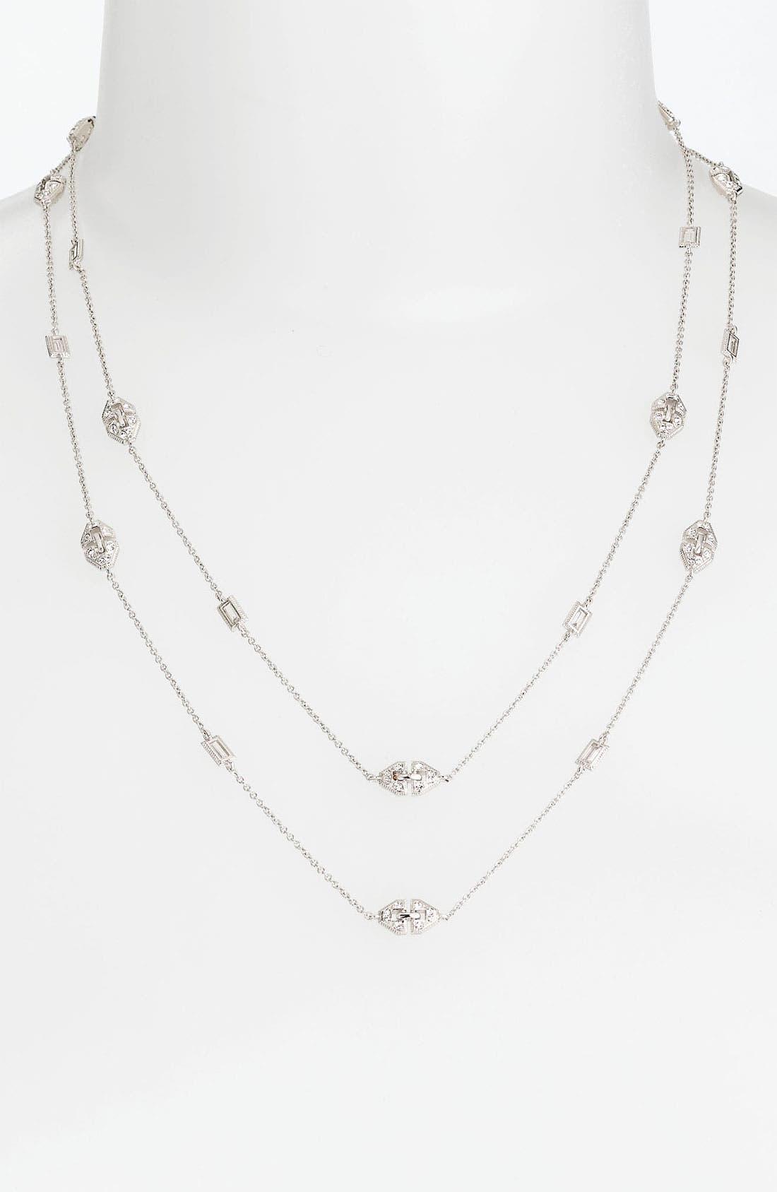 Alternate Image 2  - Nadri 'Art Deco' Long Station Necklace