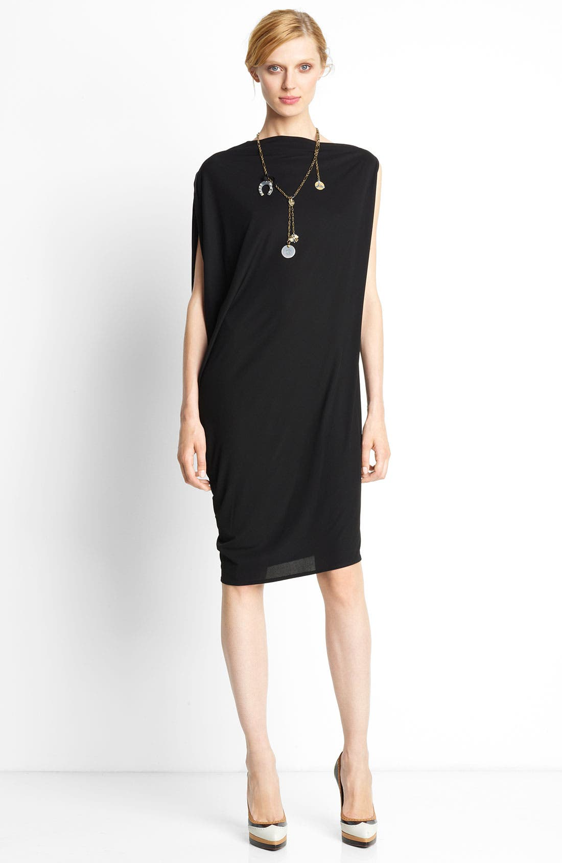 Main Image - Lanvin Draped Back Dress