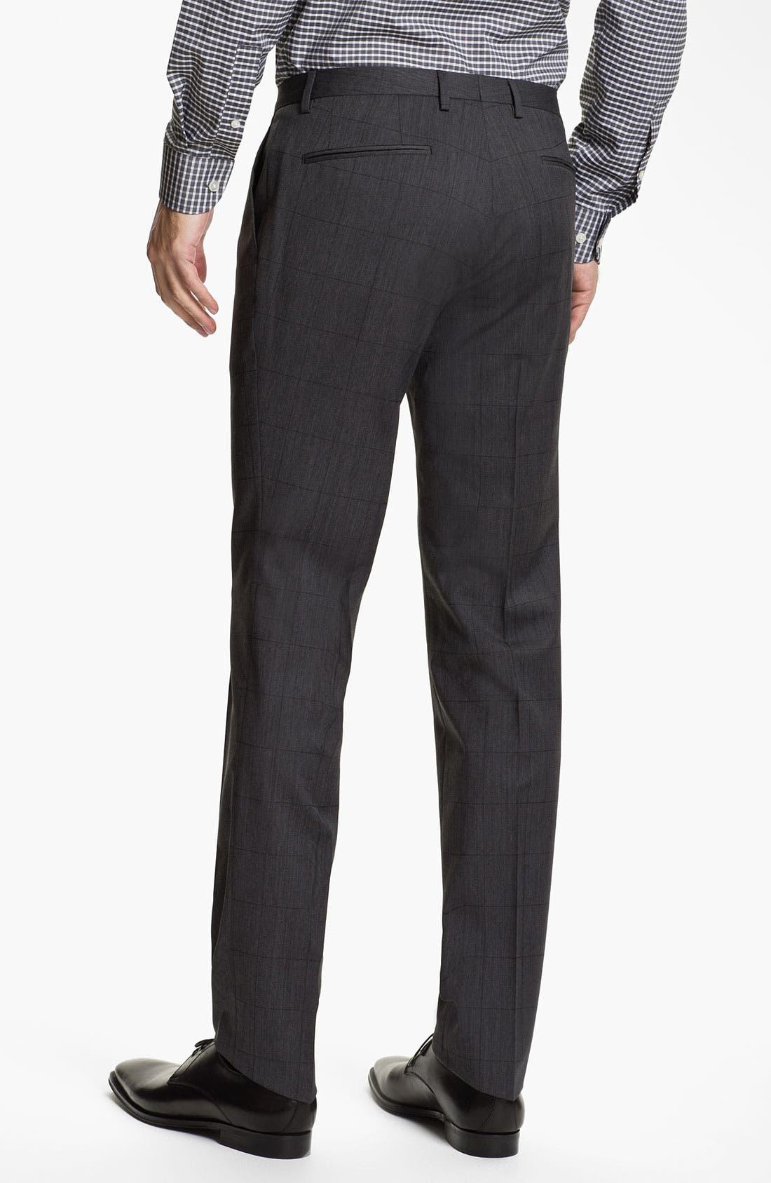 Alternate Image 5  - BOSS HUGO BOSS 'Ryan/Win' Extra Trim Fit Suit