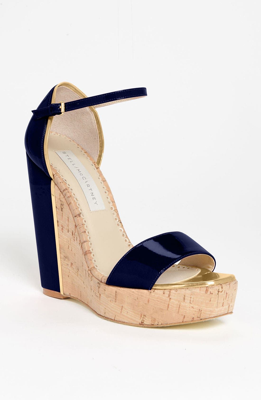 Alternate Image 1 Selected - Stella McCartney Open Toe Wedge Sandal